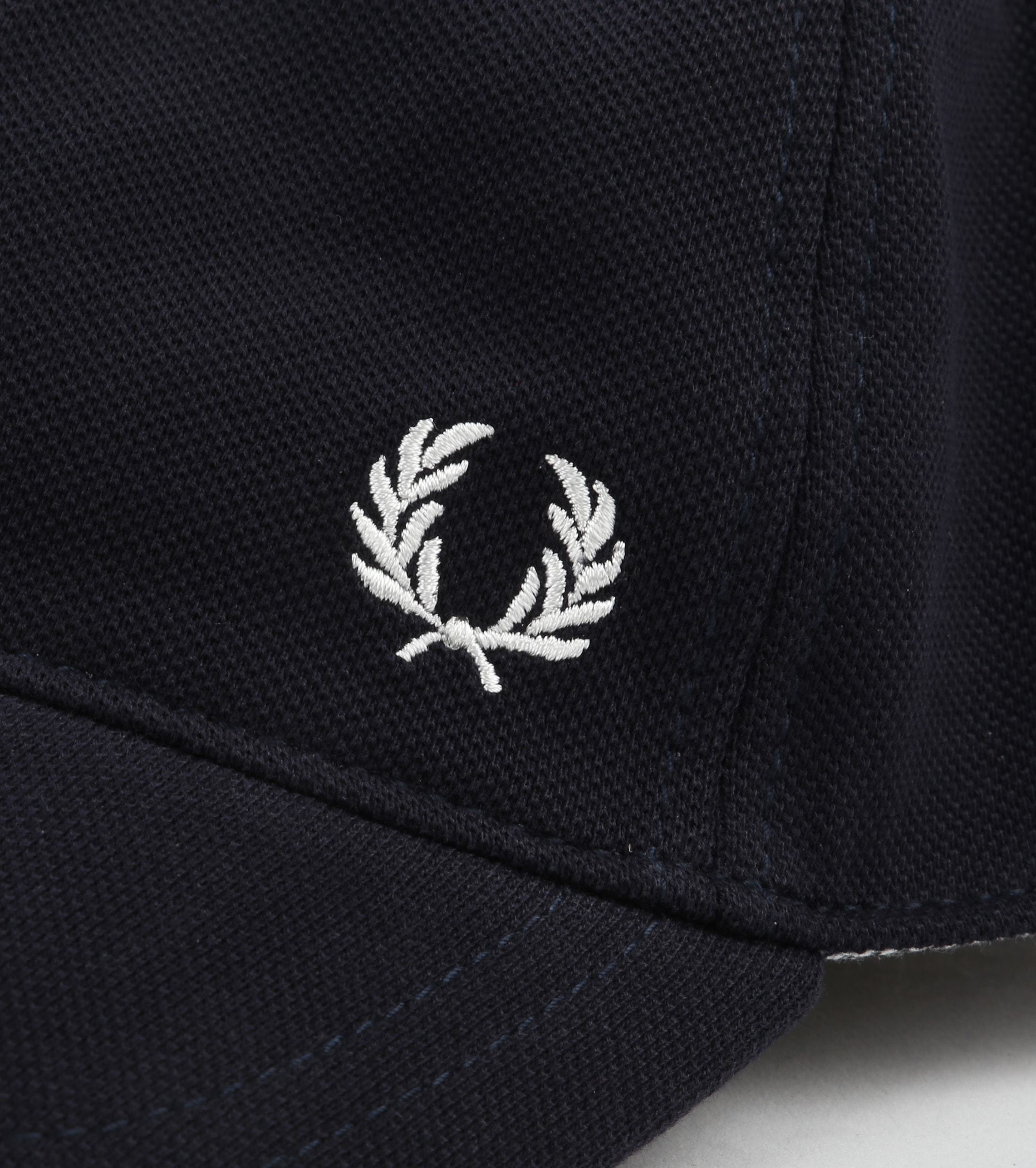 Fred Perry A27 Cap Donkerblauw foto 1