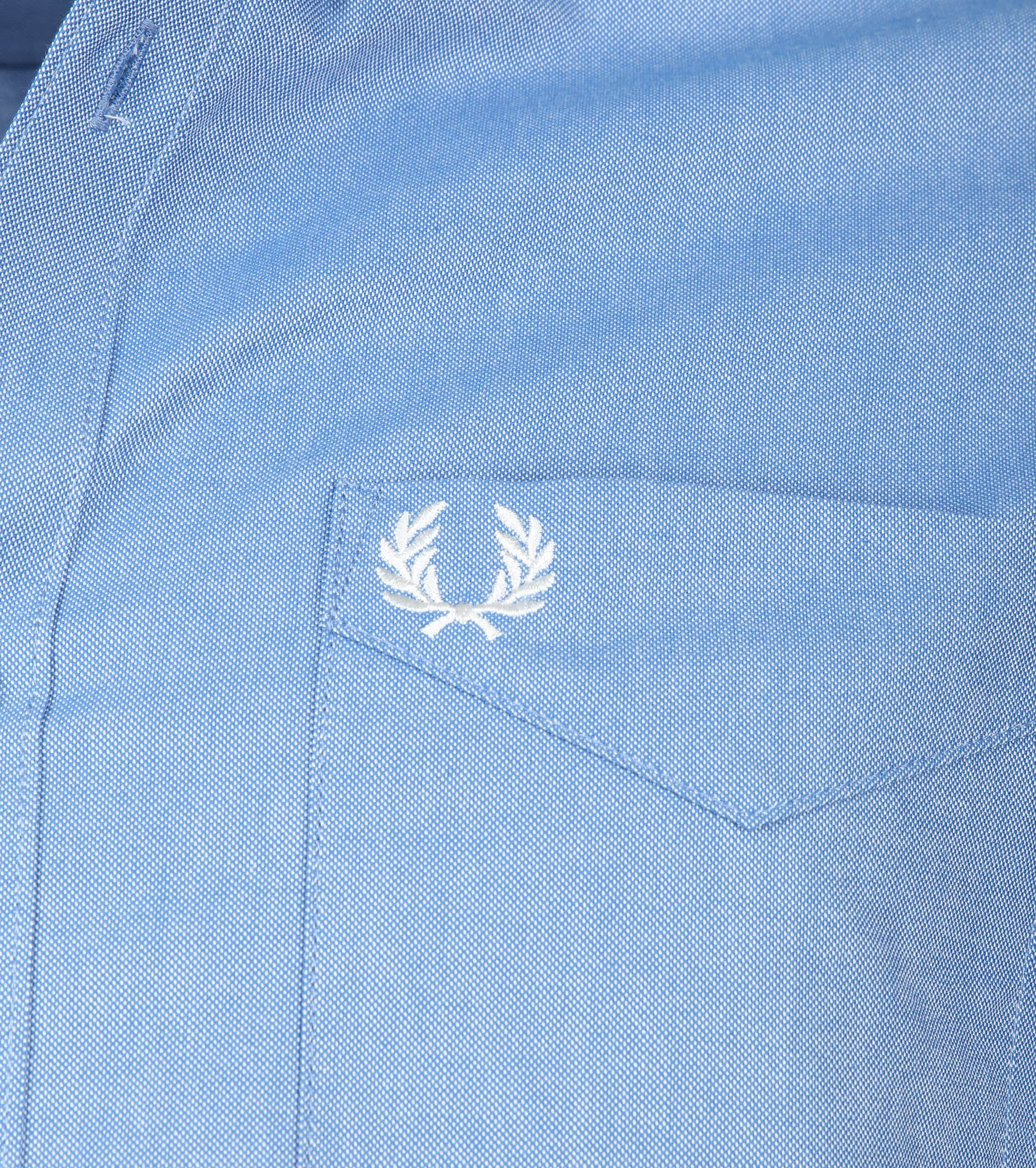 Fred Perry Classic Overhemd Blauw foto 2