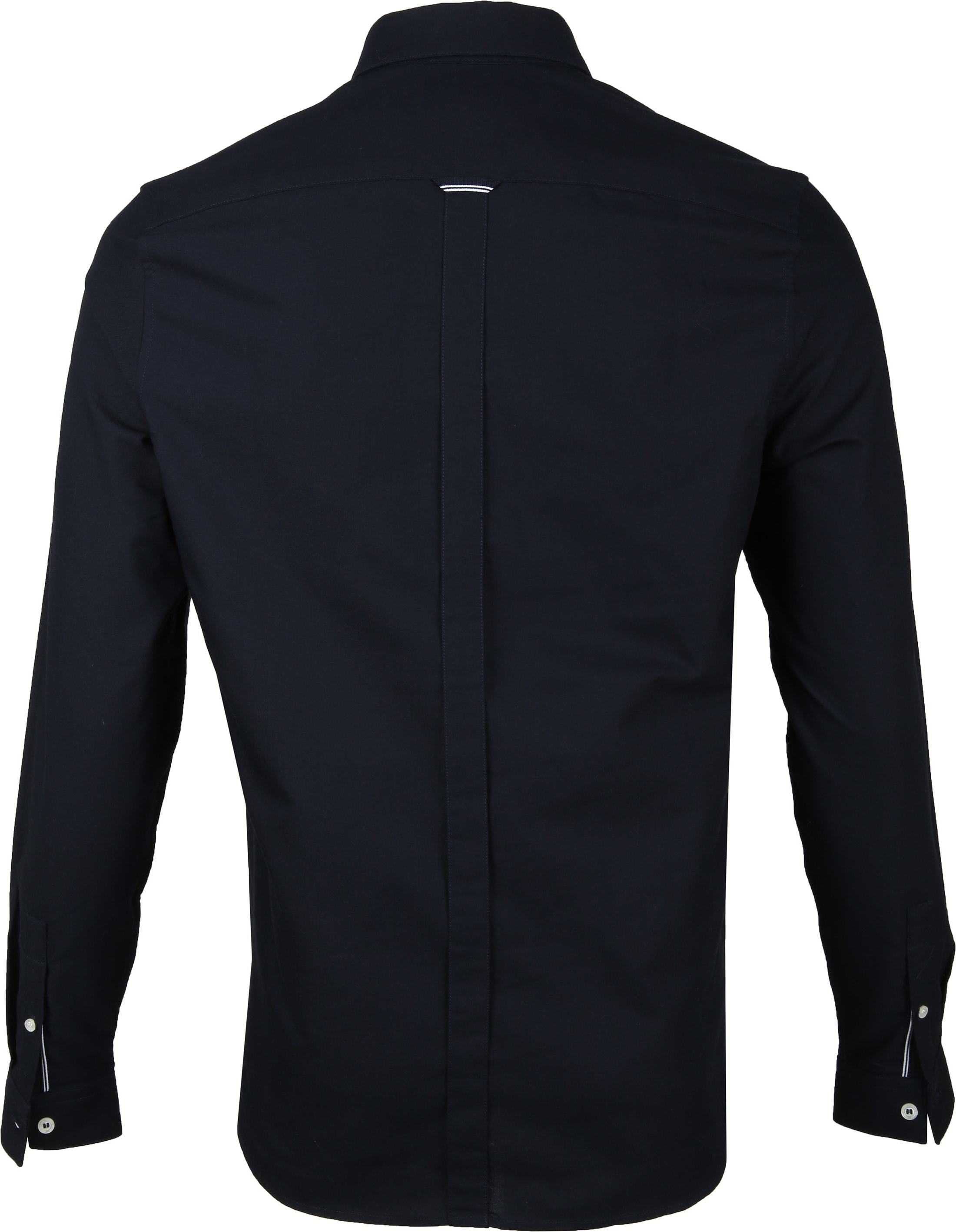 Fred Perry Classic Overhemd Navy foto 4