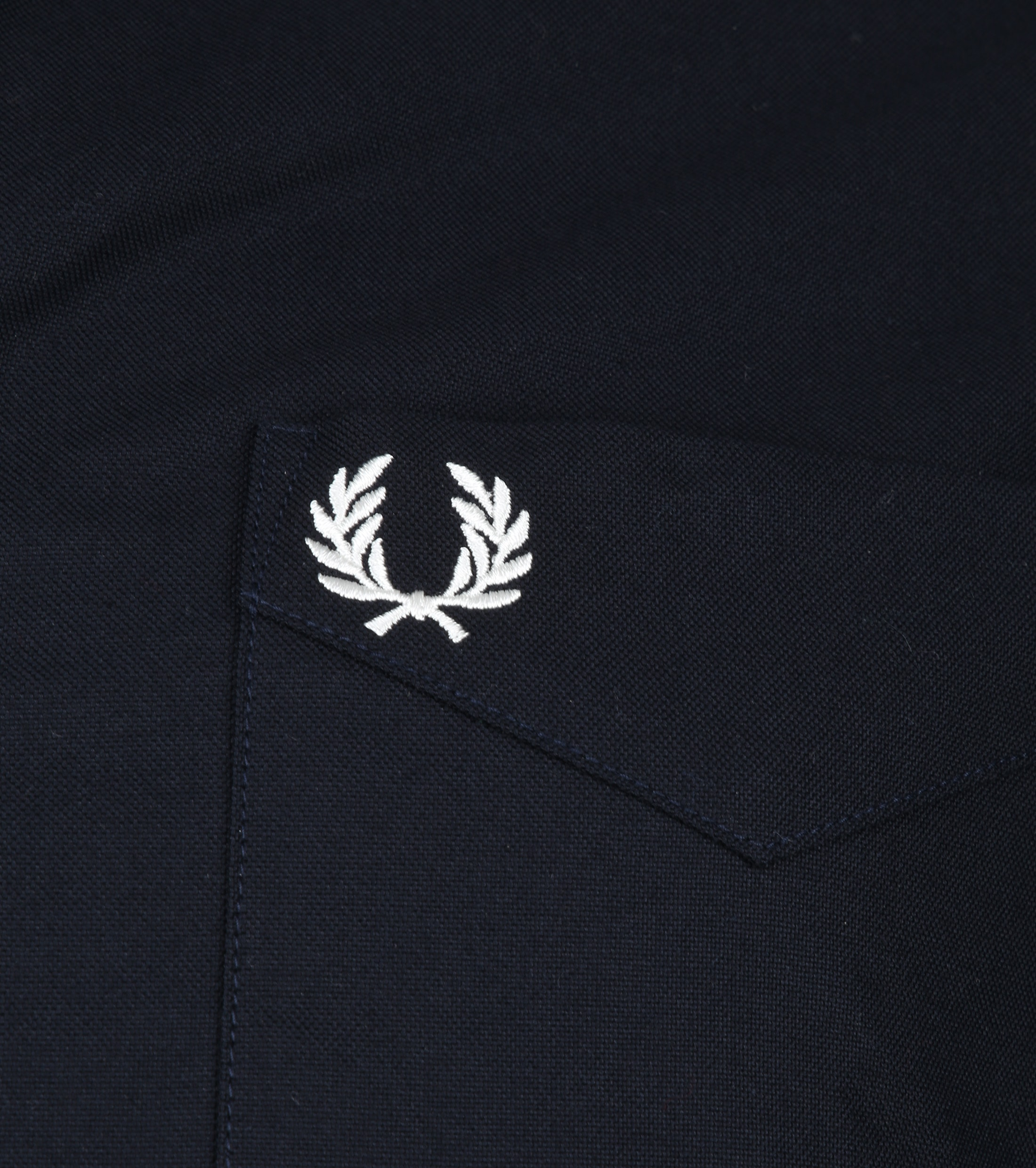 Fred Perry Classic Shirt Navy photo 2