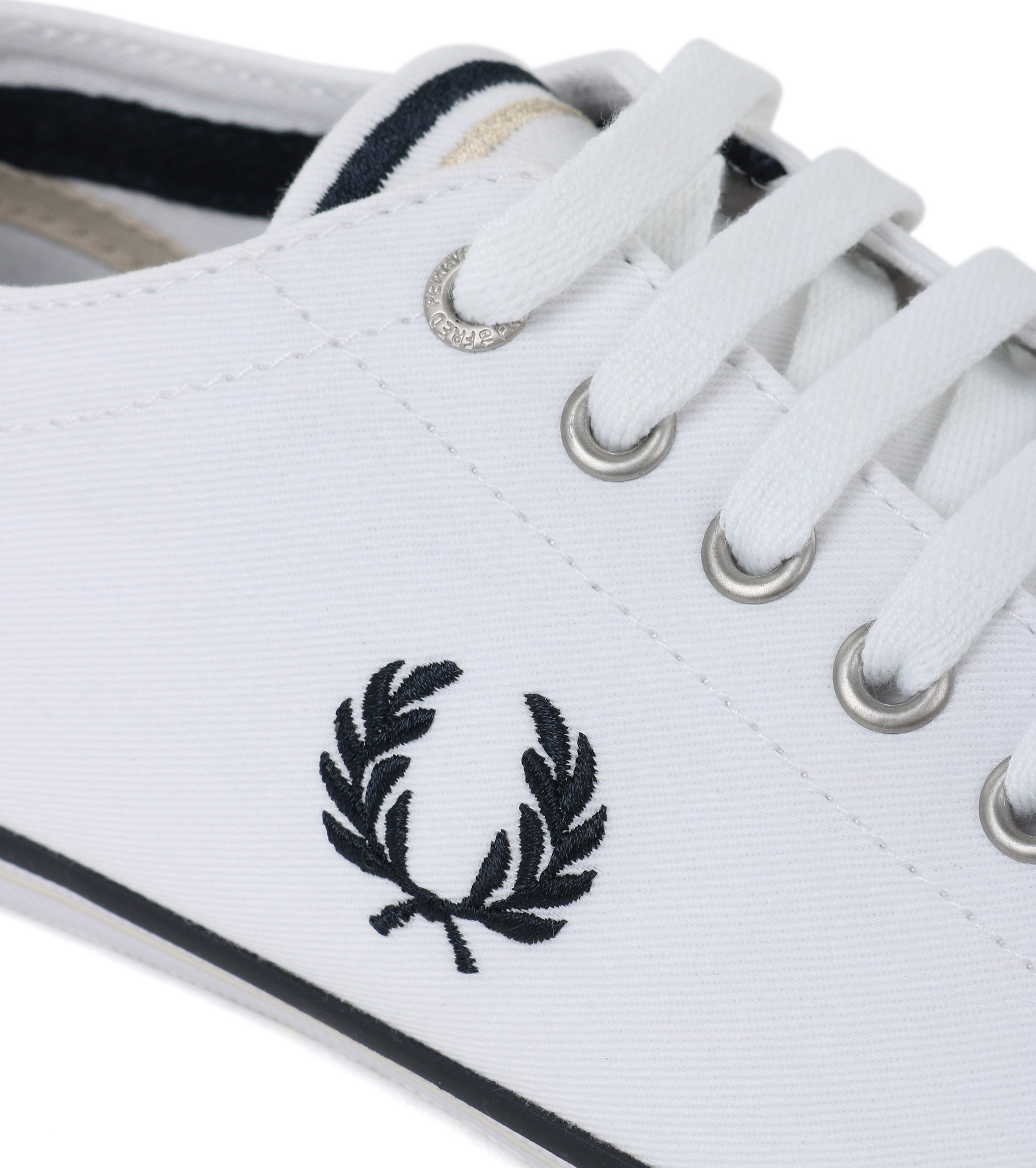Fred Perry Kingston Sneaker Wit foto 1