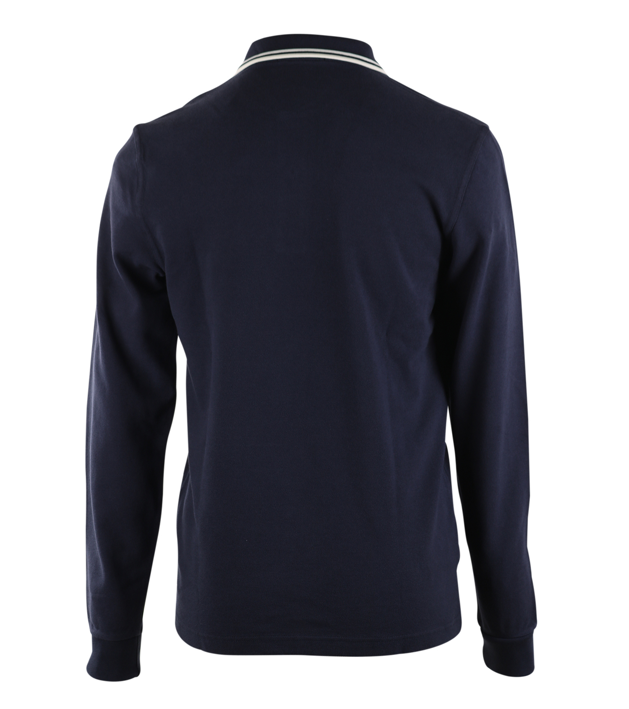 Fred Perry Longsleeve Polo Donkerblauw 226 foto 1