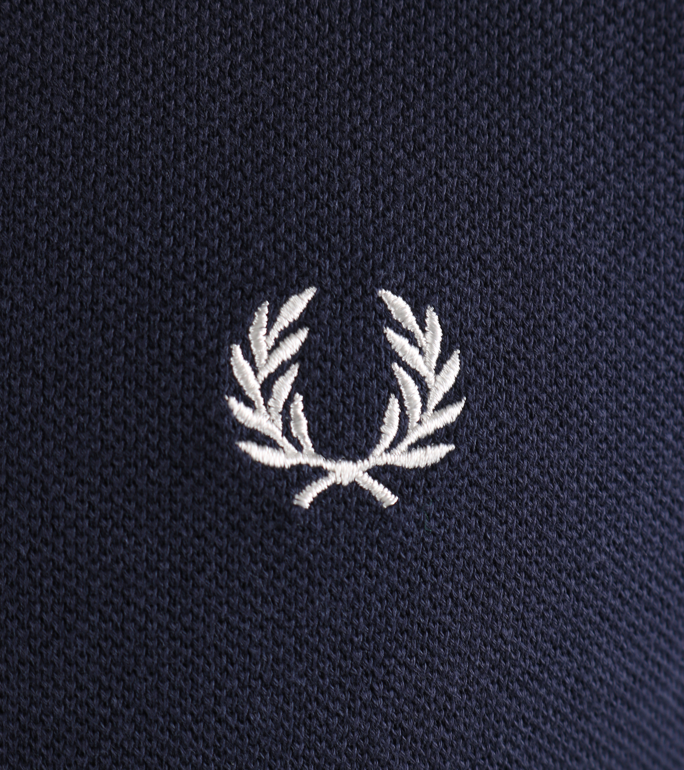 Fred Perry Longsleeve Polo Donkerblauw 226 foto 2