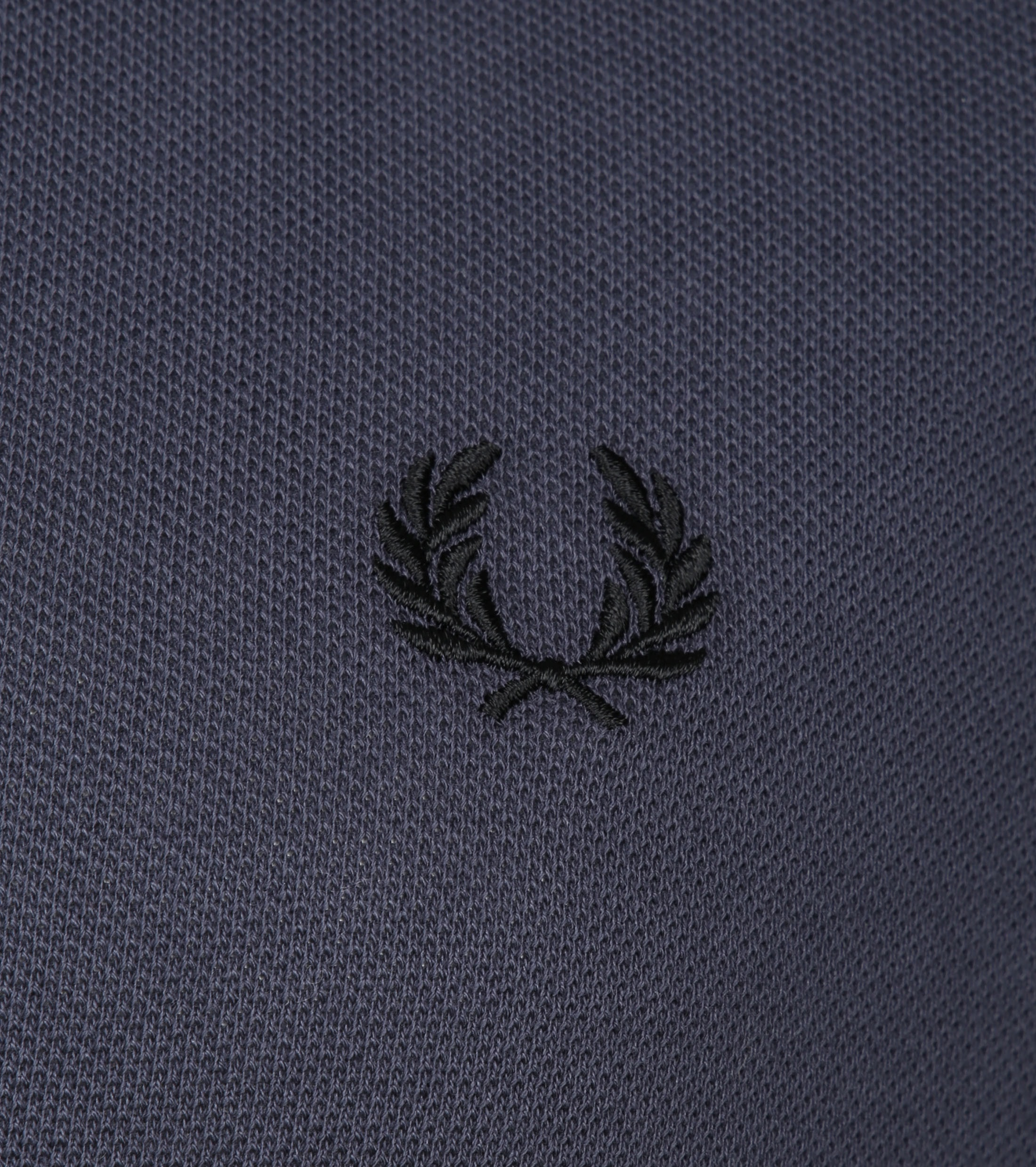 Fred Perry LS Polo Antraciet foto 2