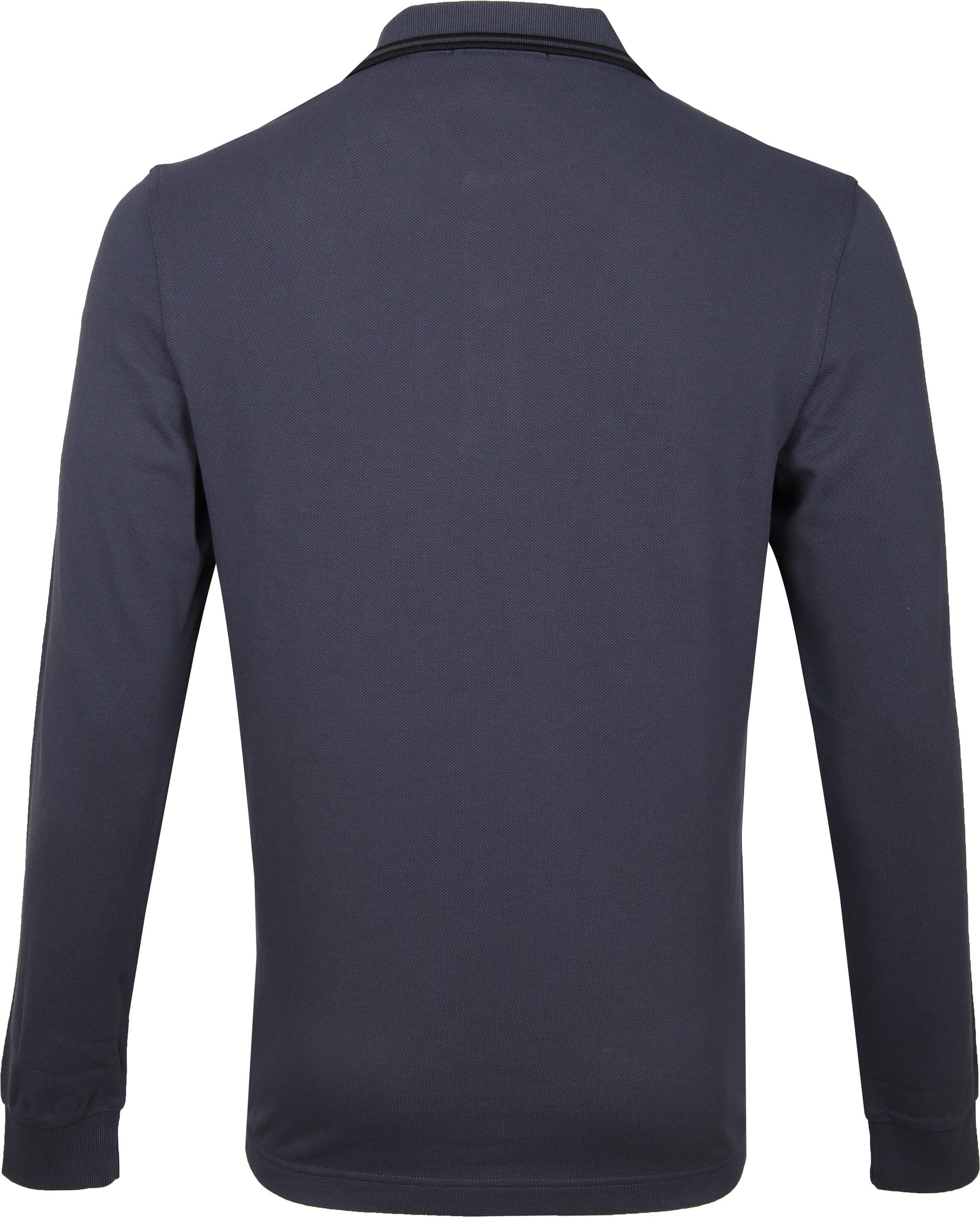 Fred Perry LS Polo Antraciet foto 3