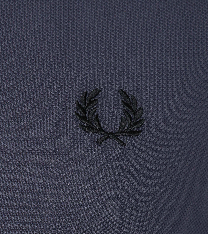 Fred Perry LS Poloshirt Dark Grey photo 2