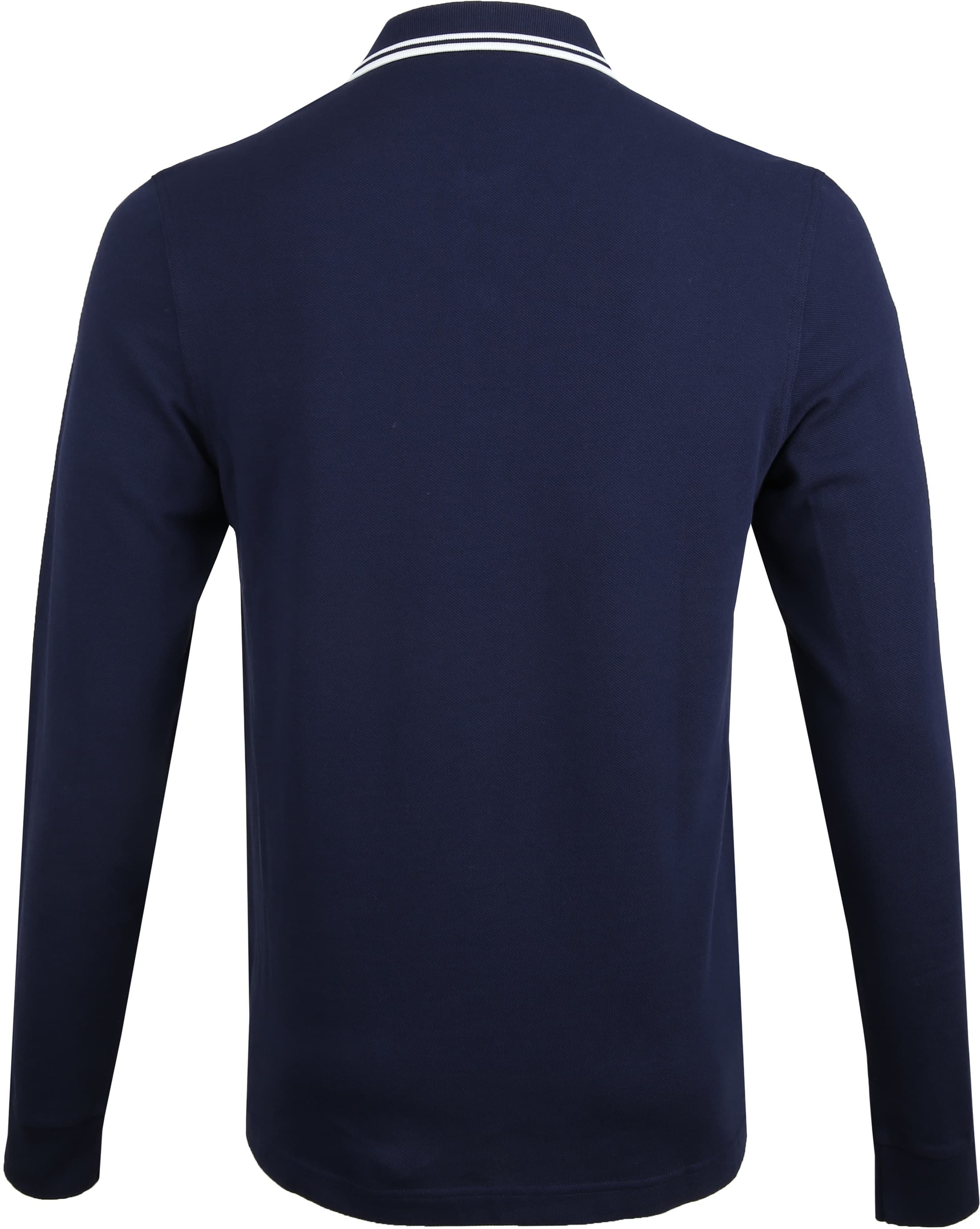 Fred Perry LS Poloshirt Navy I86 foto 3