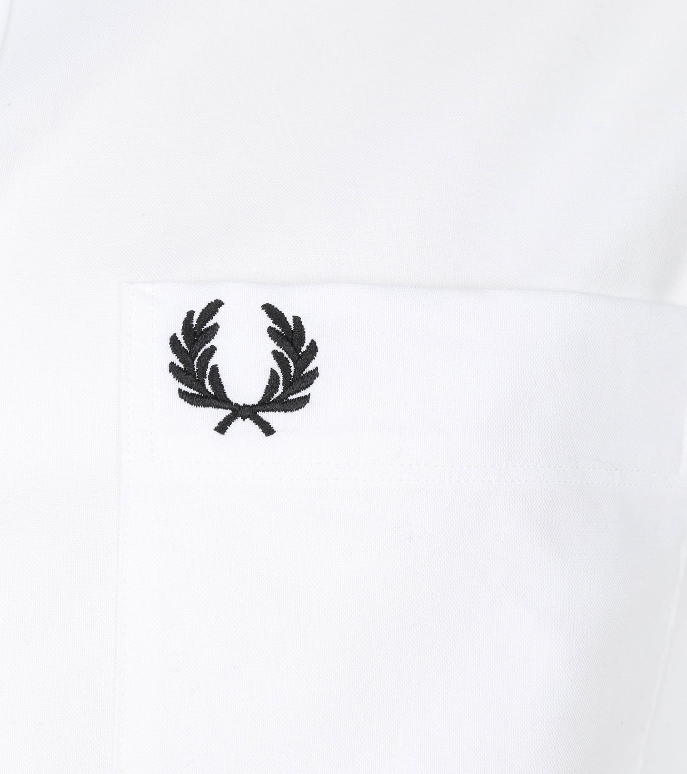 Fred Perry Oxford Overhemd Wit