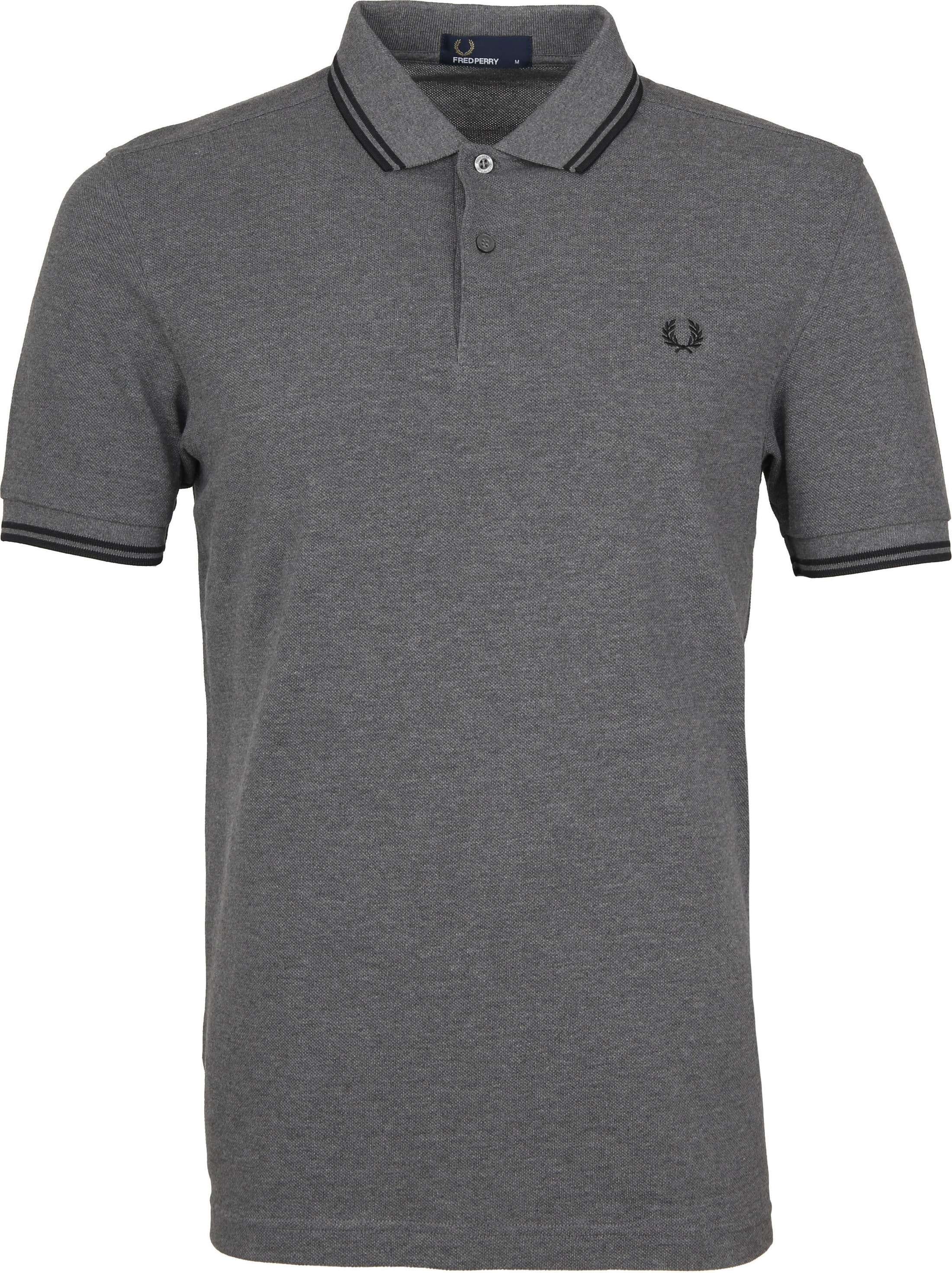 Fred Perry Polo Antraciet G20 foto 0