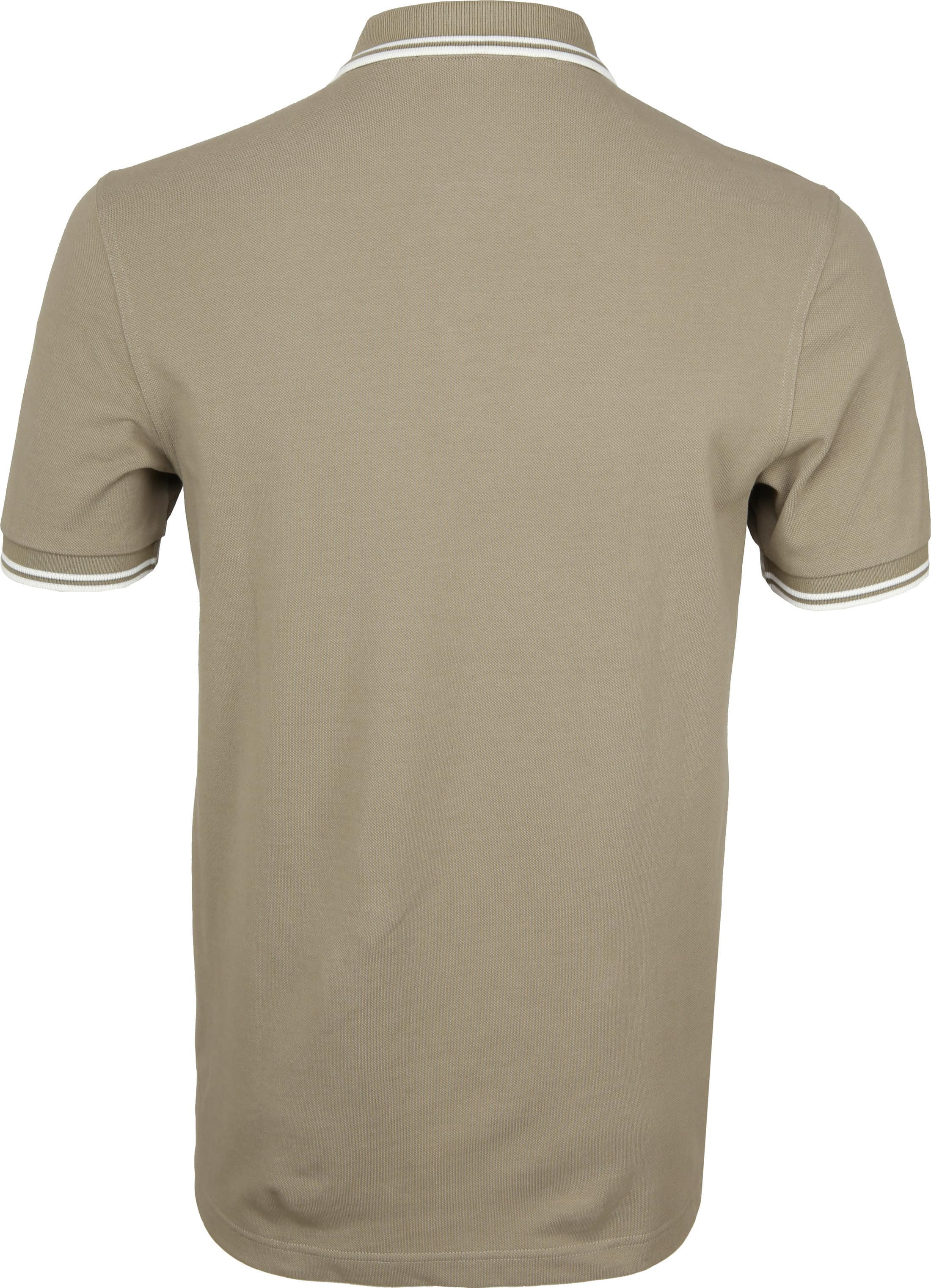Fred Perry Polo Beige H04 foto 2