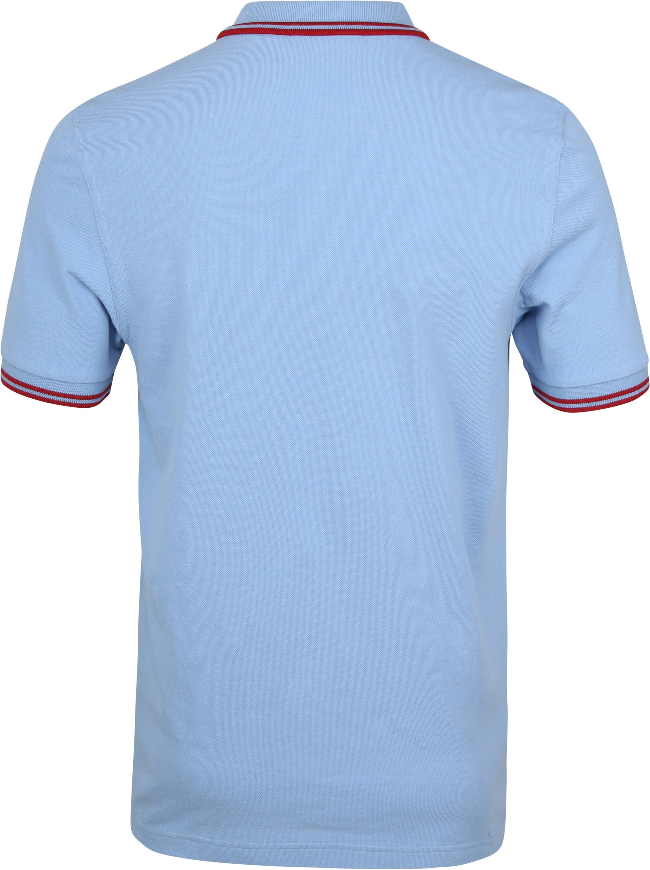 Fred Perry Polo Blauw 444 foto 2