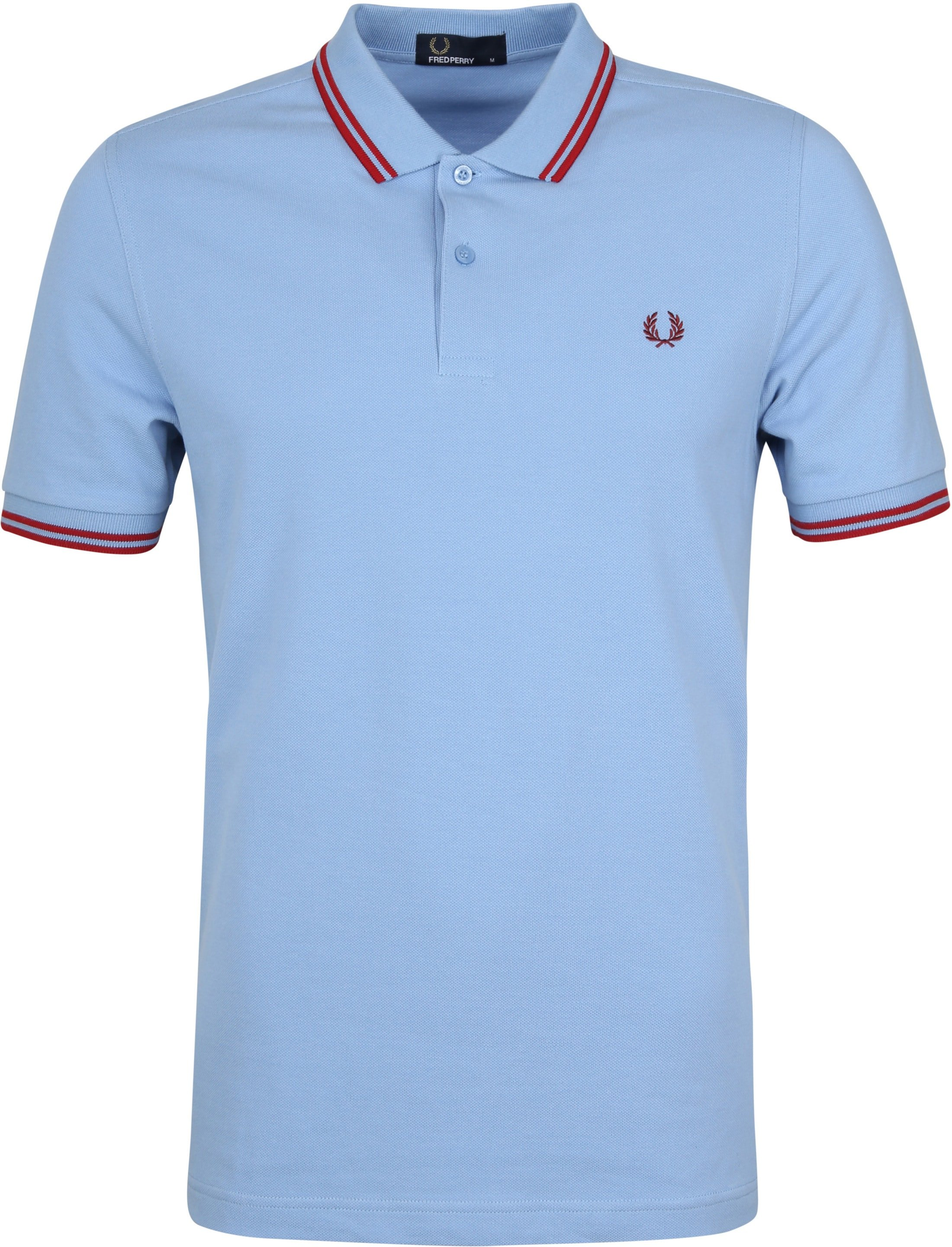 Fred Perry Polo Blauw 444 foto 0