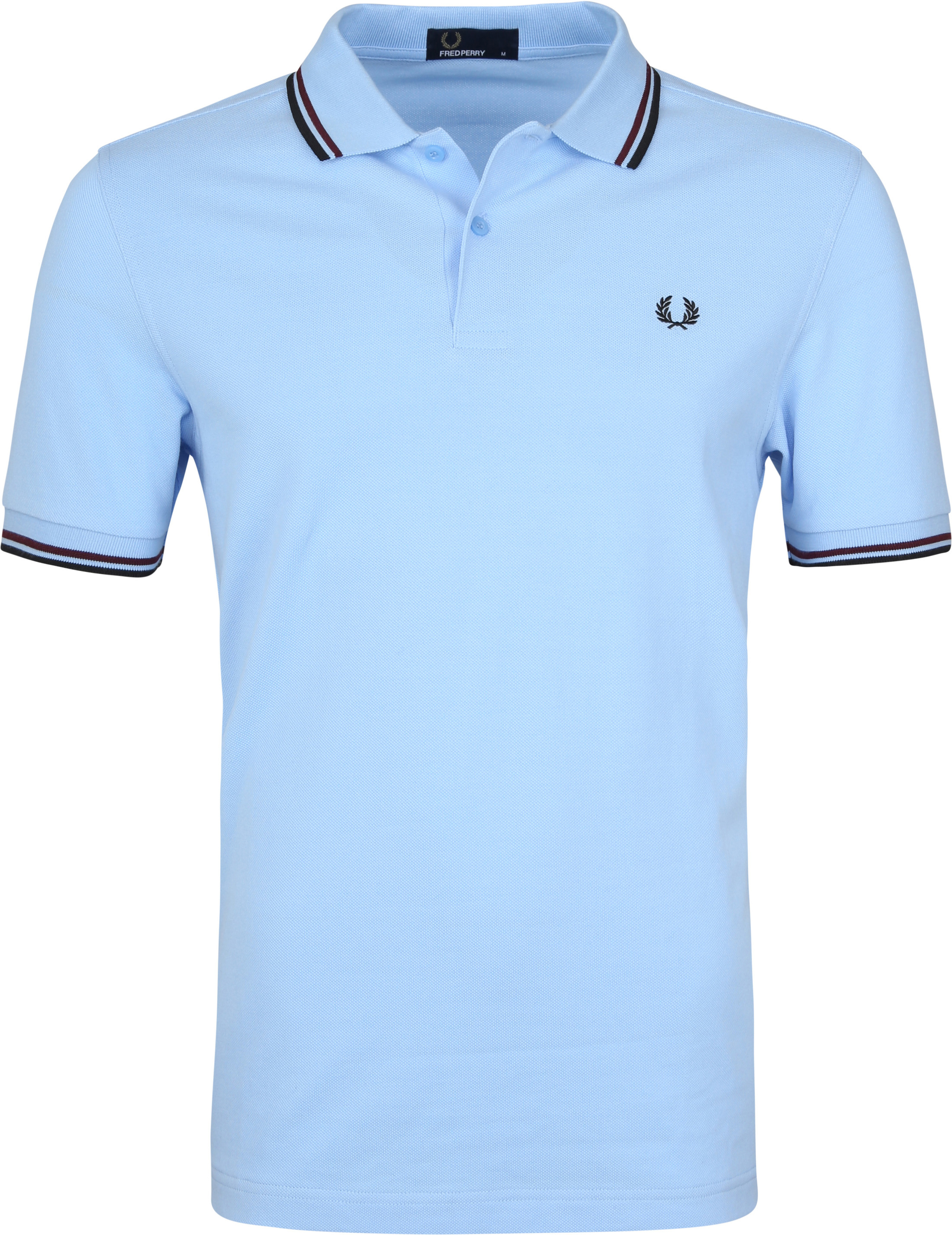 Fred Perry Polo Blauw A68 foto 0
