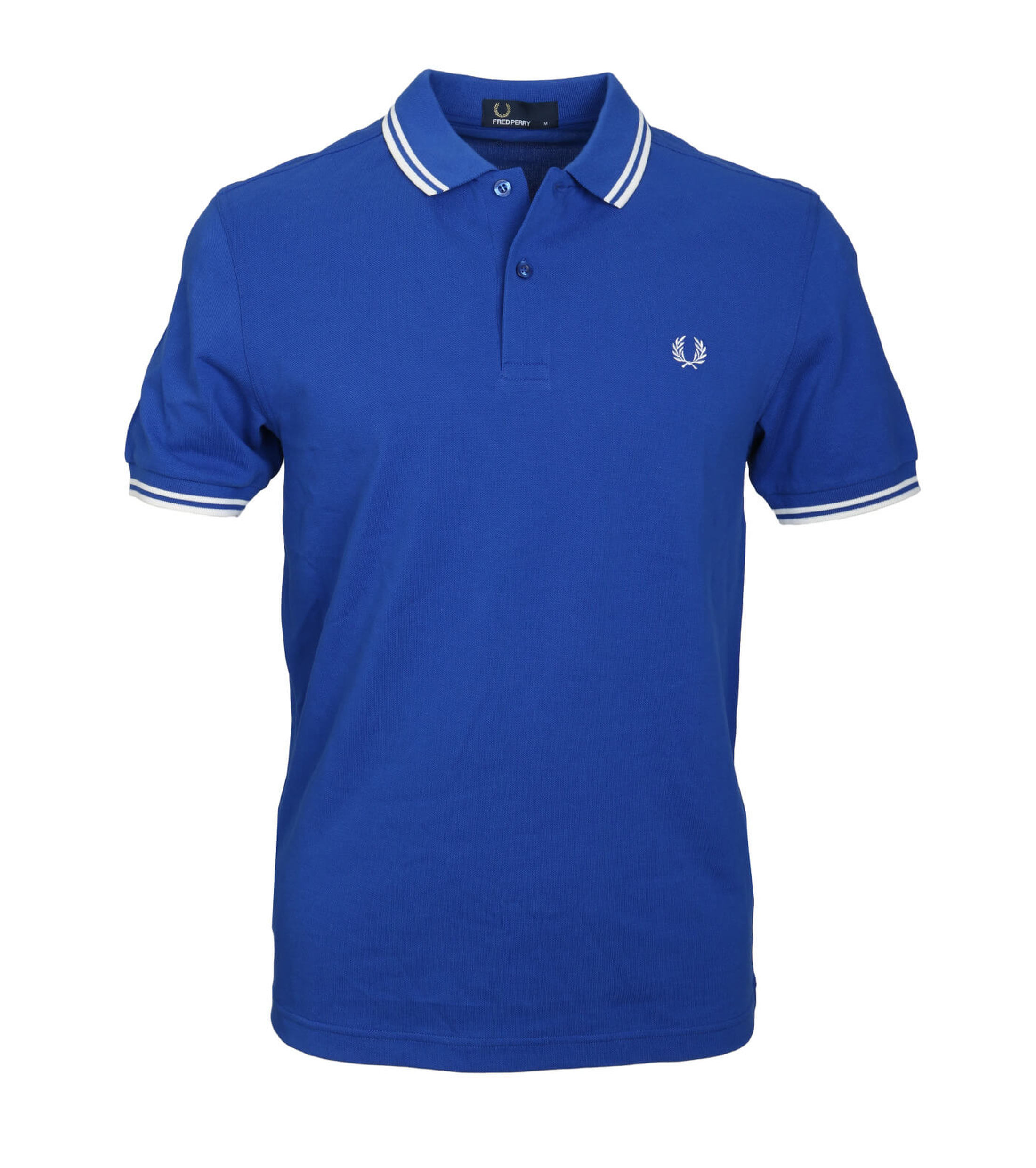 Fred Perry Polo Blauw F80 foto 0