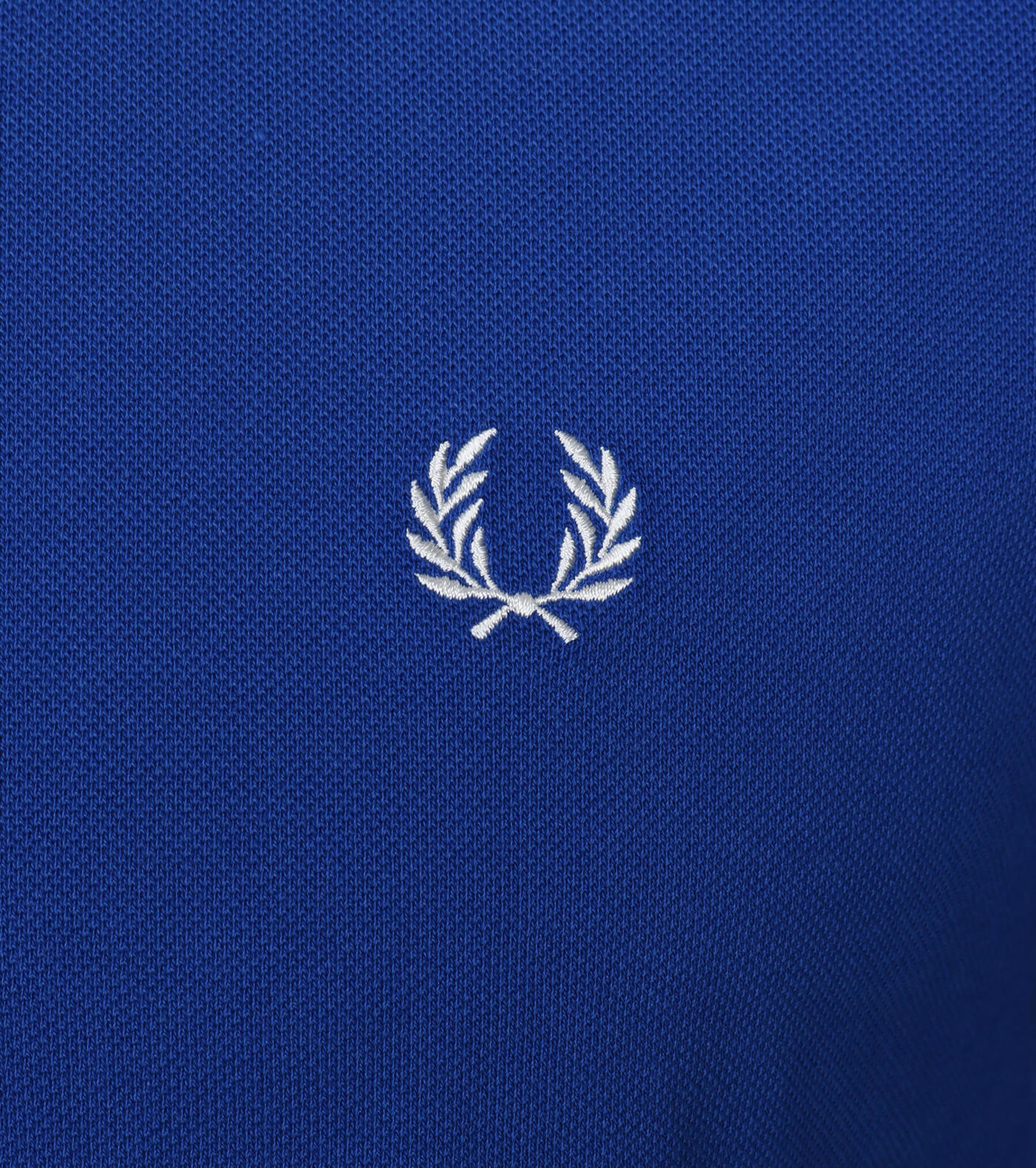 Fred Perry Polo Blauw F80 foto 2