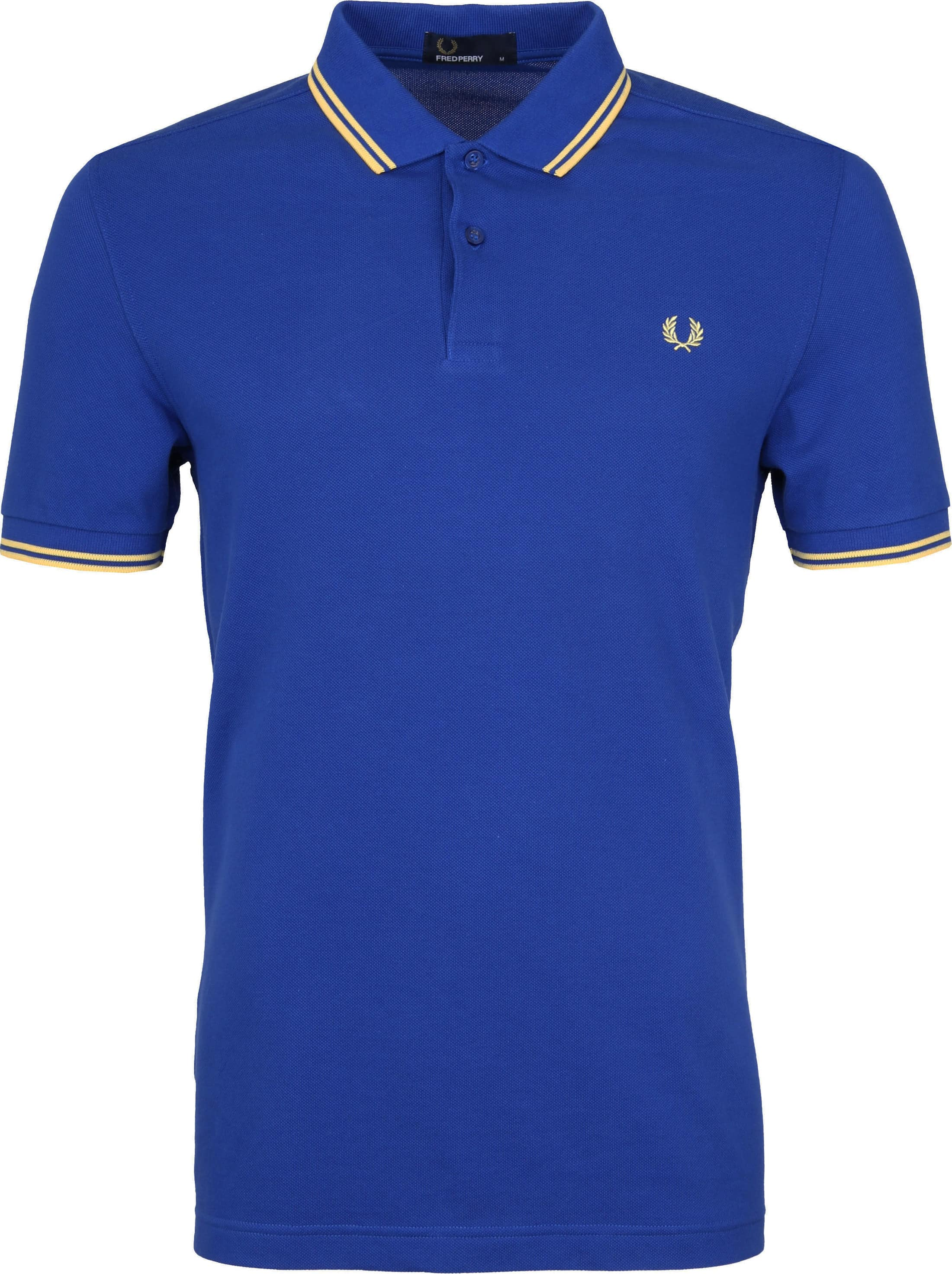 Fred Perry Polo Blauw G89 foto 0