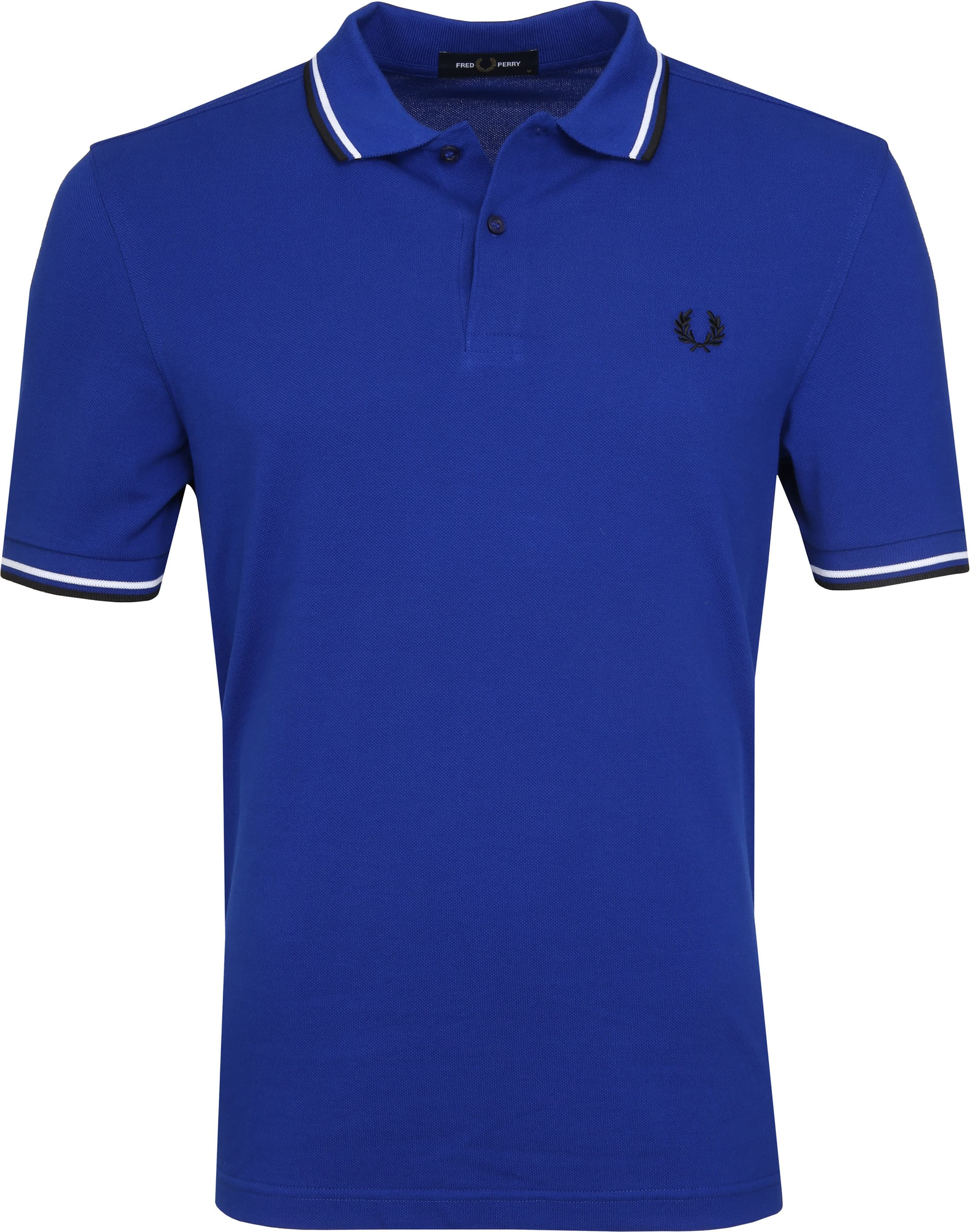Fred Perry Polo Blauw I88 foto 0
