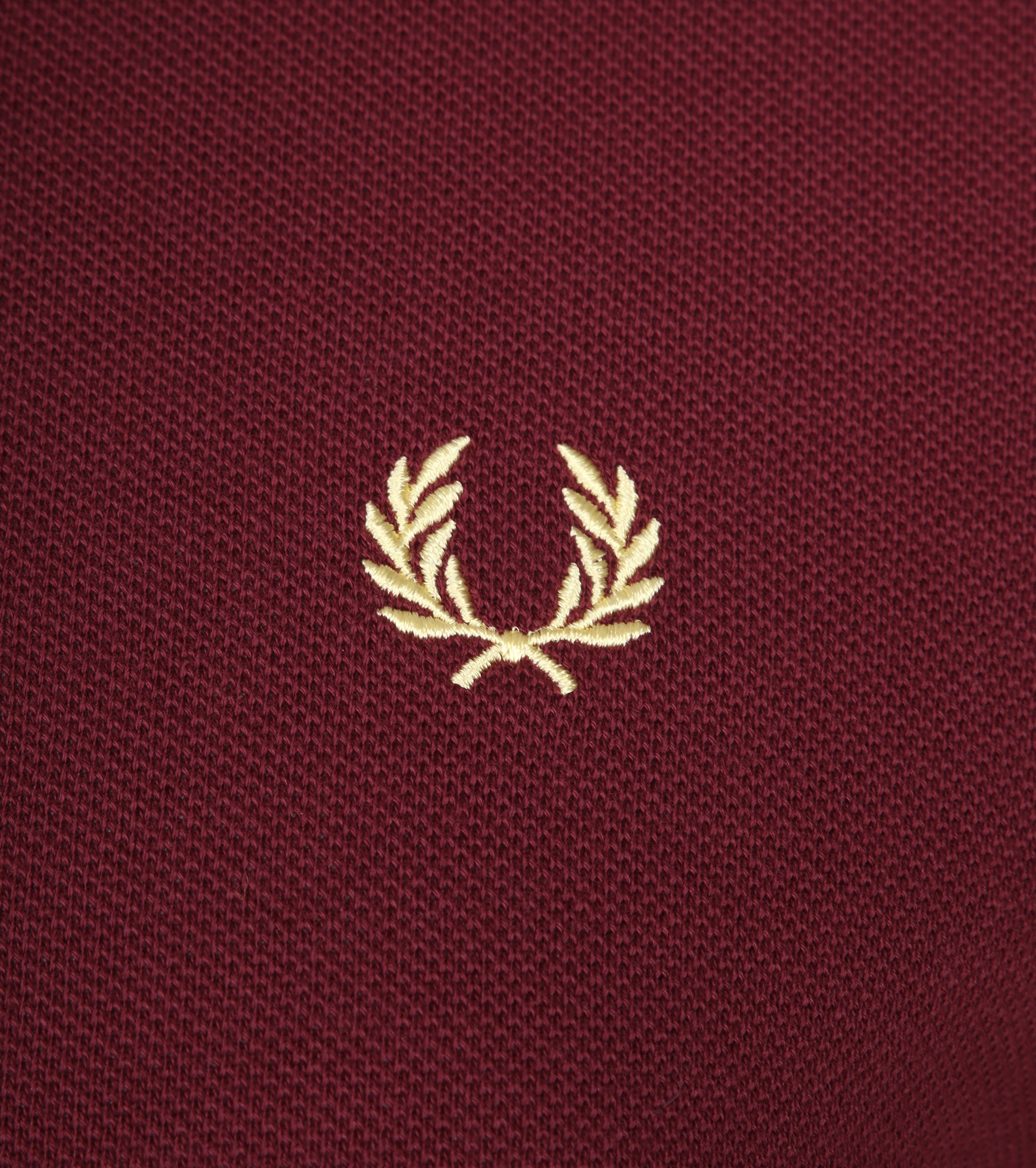 Fred Perry Polo Bordeaux 472 foto 1