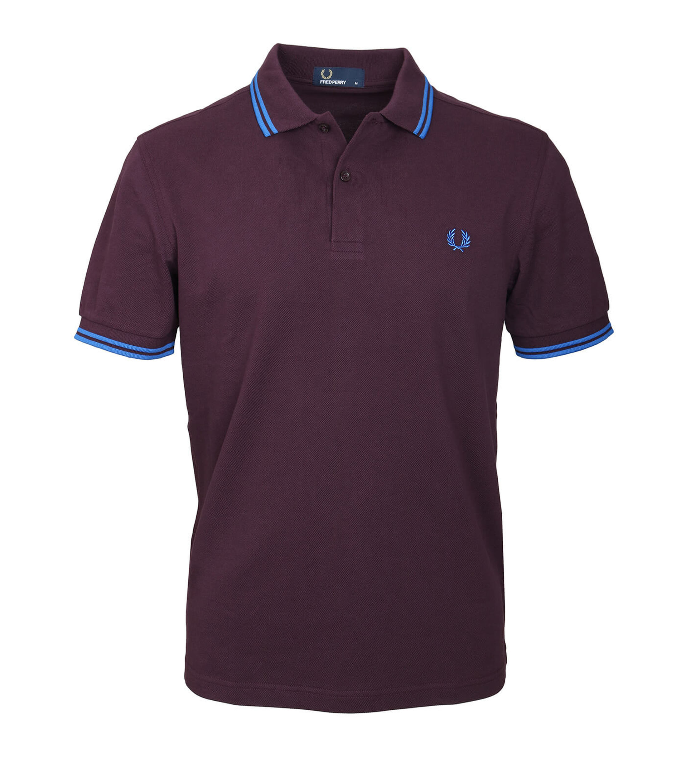 Fred Perry Polo Bordeaux F25 foto 0