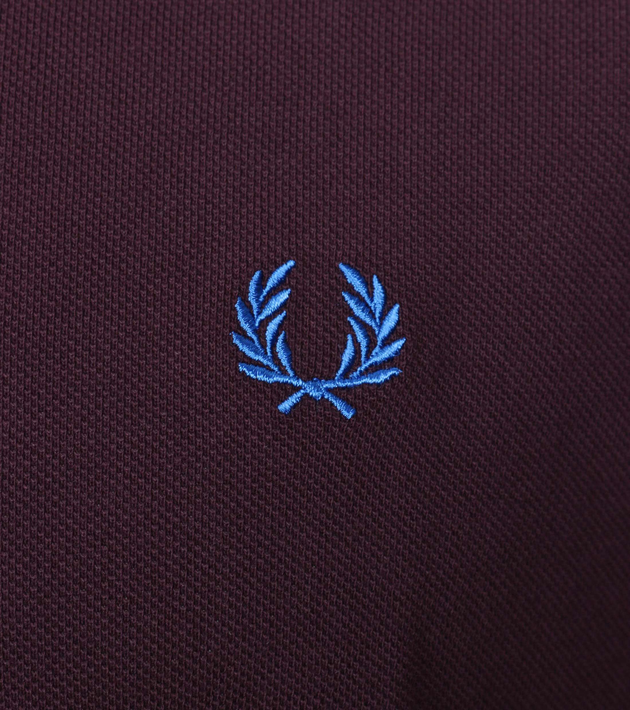 Fred Perry Polo Bordeaux F25 foto 2