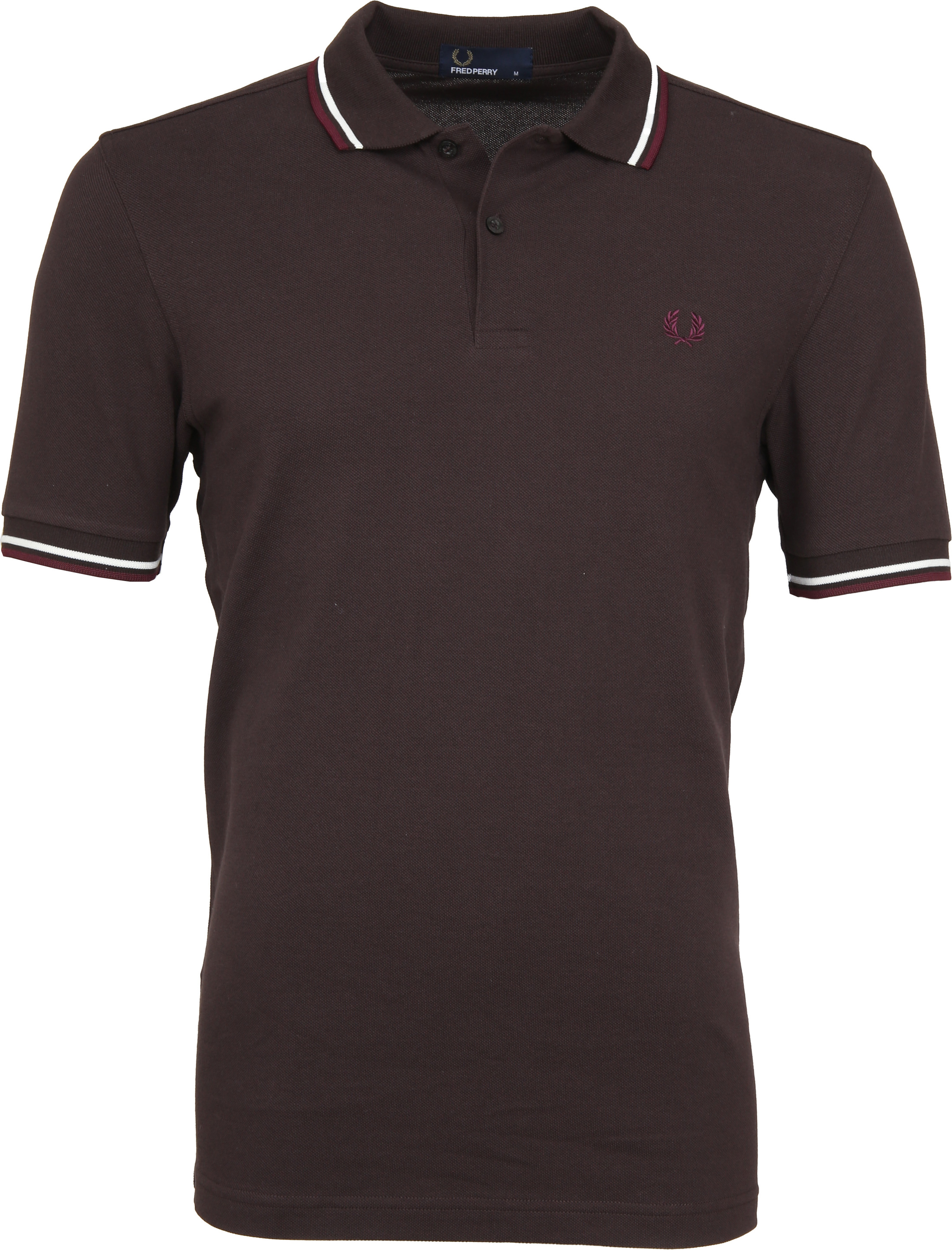 Fred Perry Polo Braun F65 foto 0
