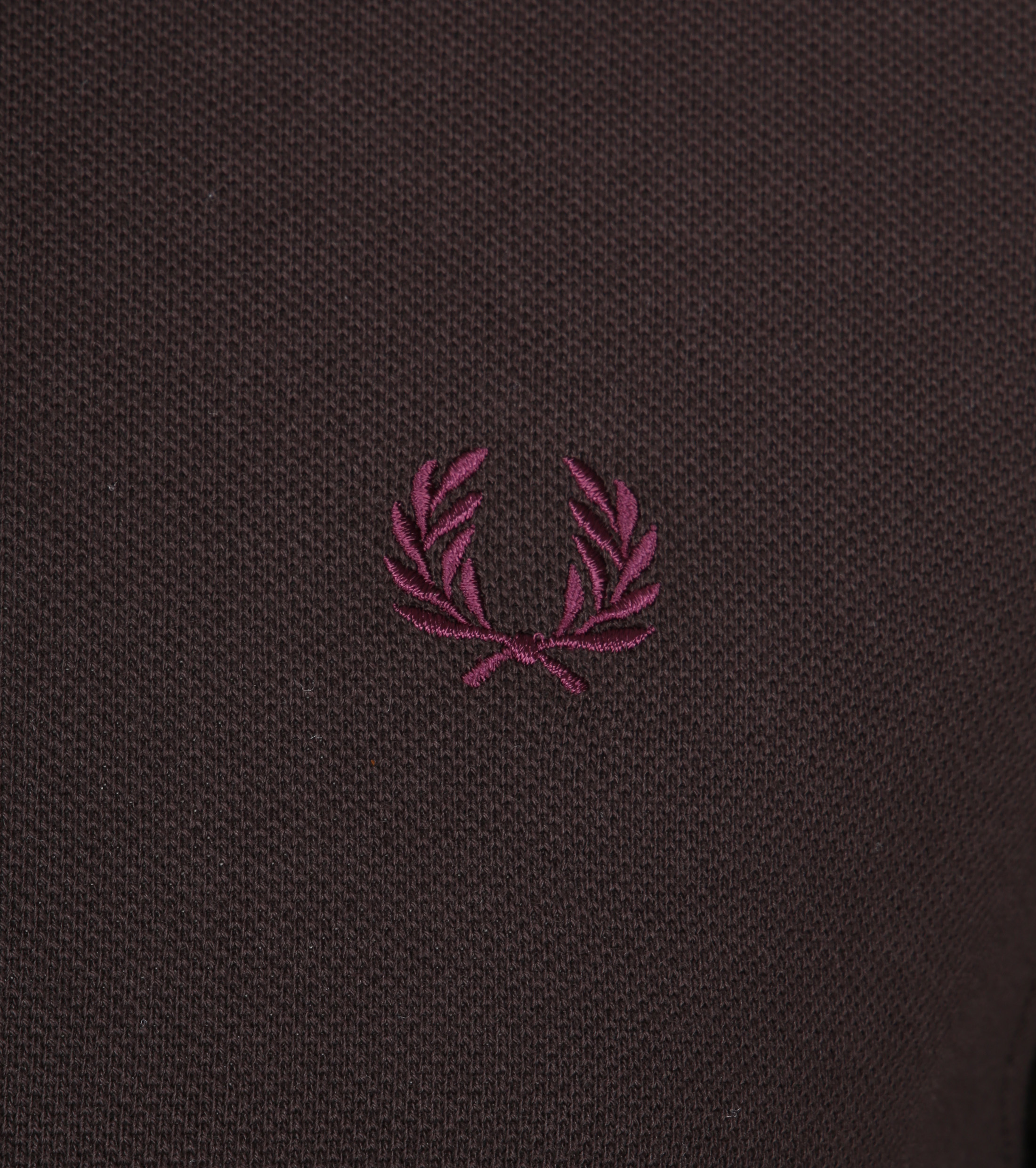 Fred Perry Polo Braun F65 foto 1