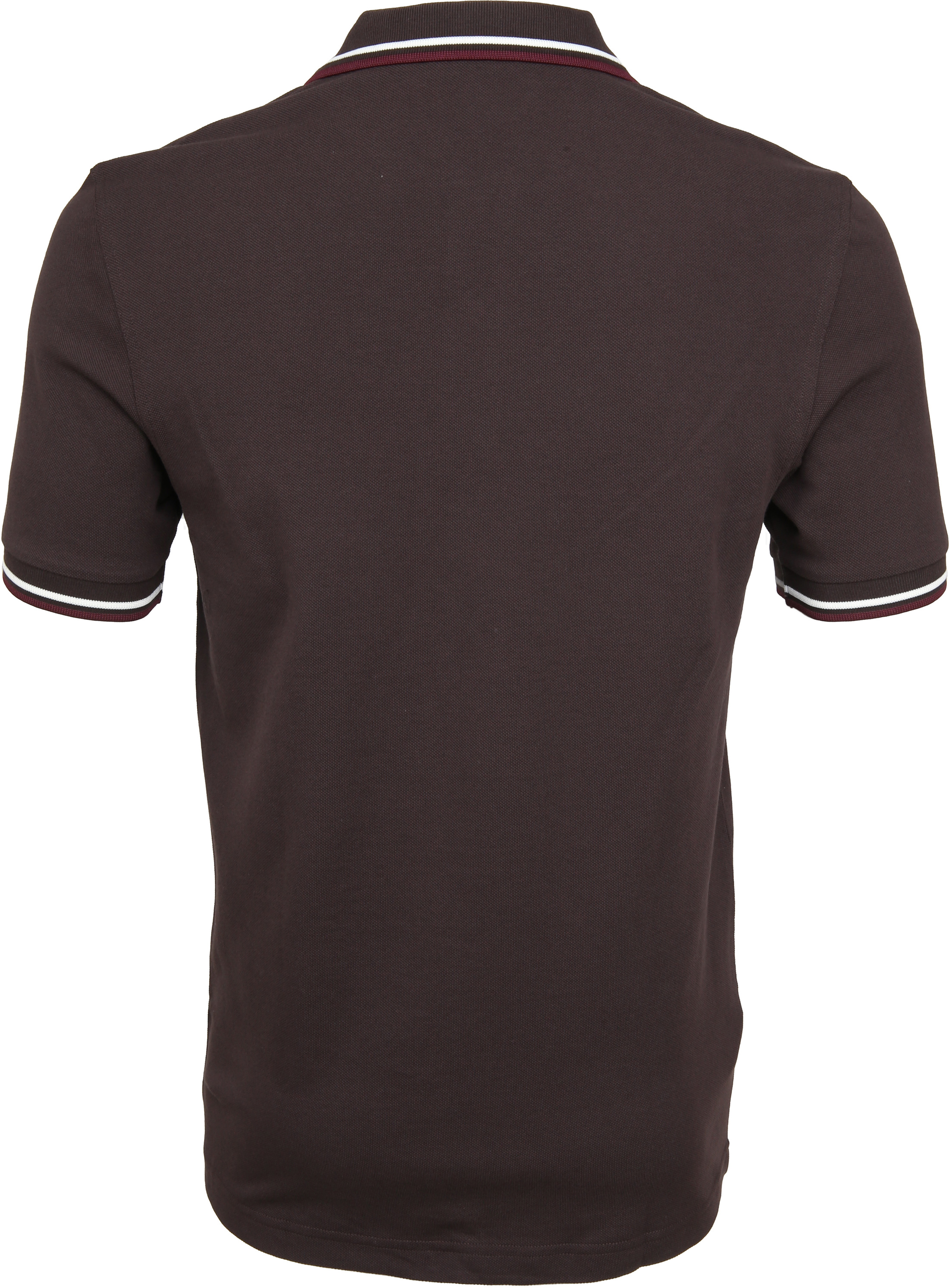 Fred Perry Polo Braun F65 foto 3