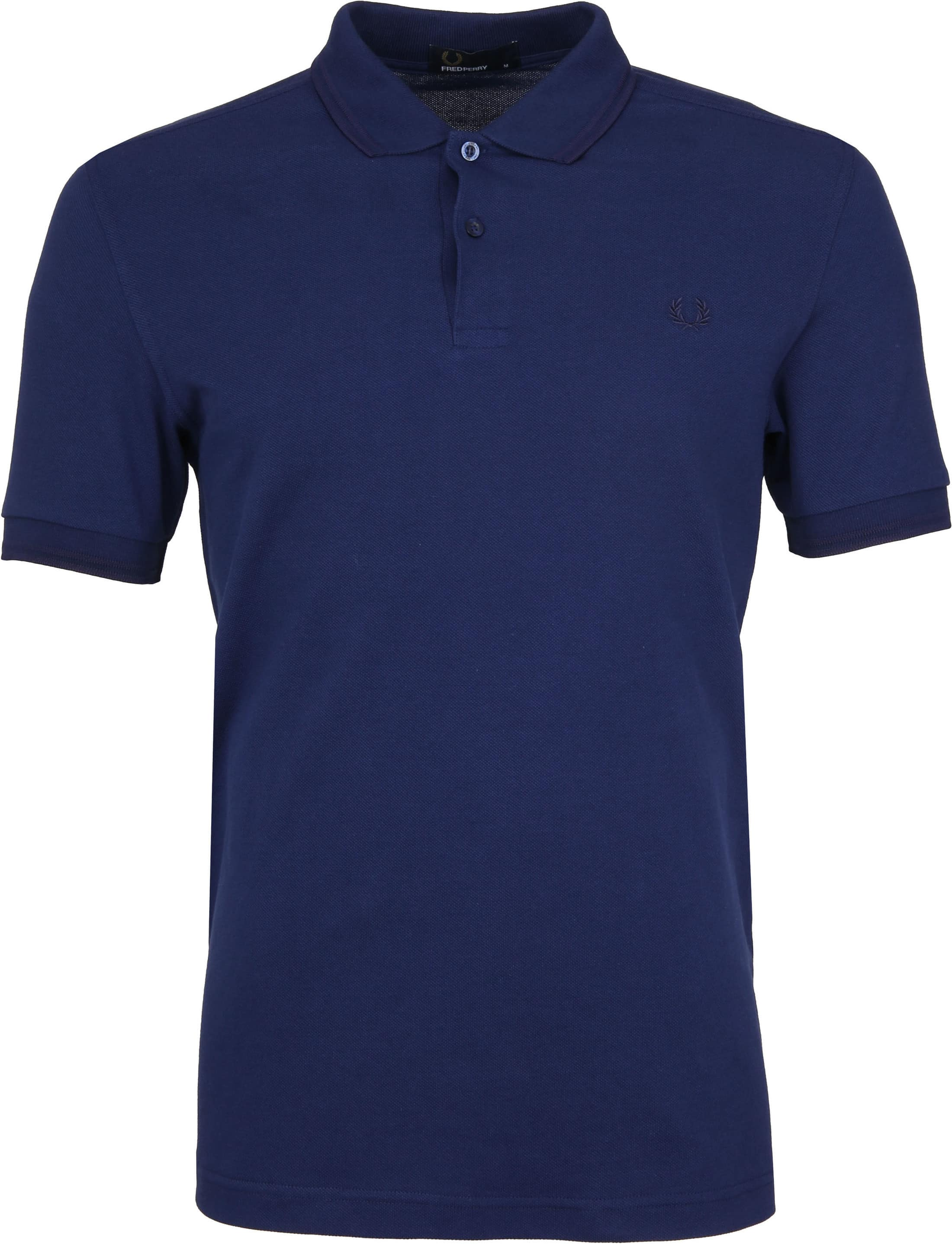 Fred Perry Polo Donkerblauw H36 foto 0