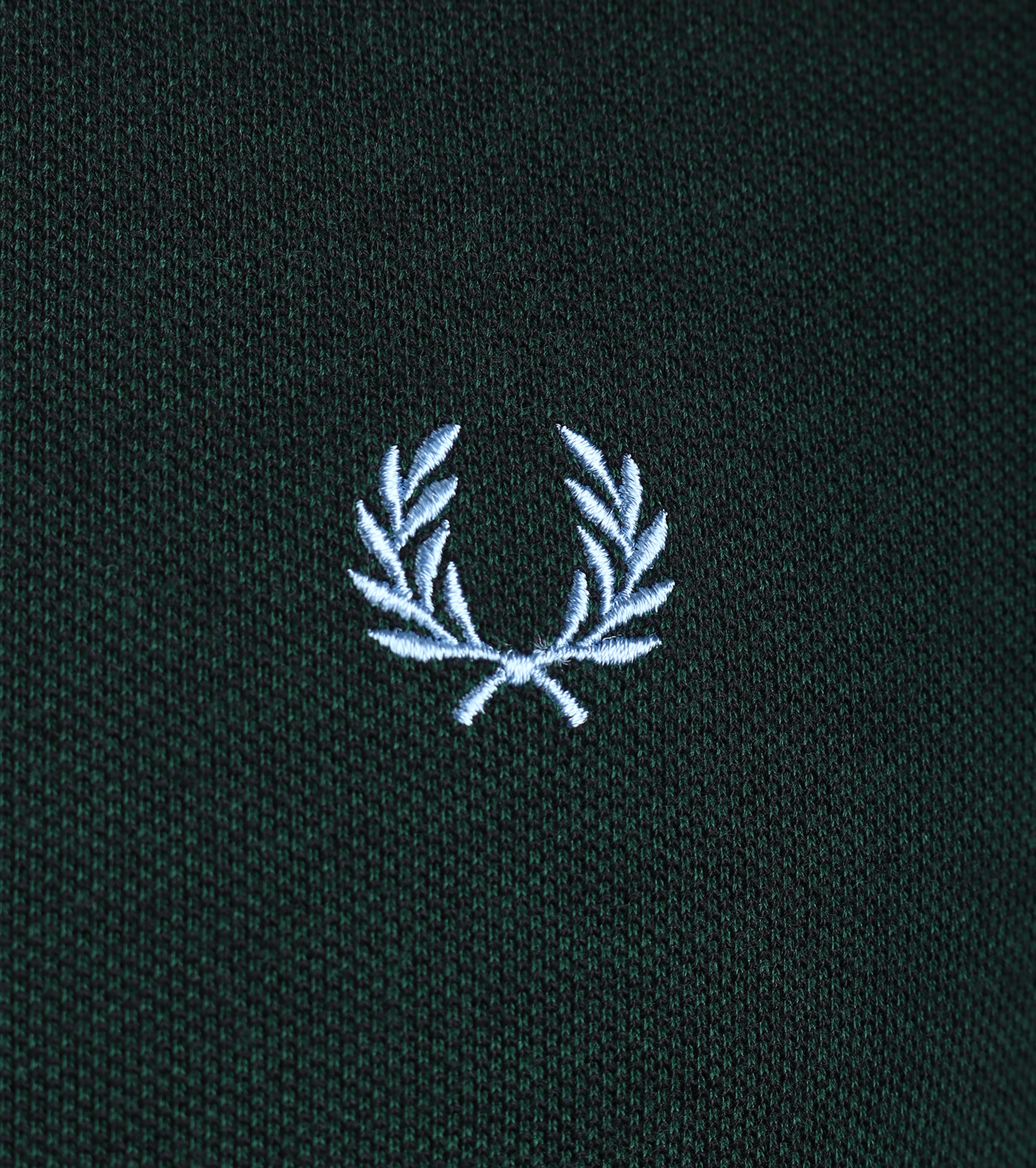 Fred Perry Polo Donkergroen E05 foto 2