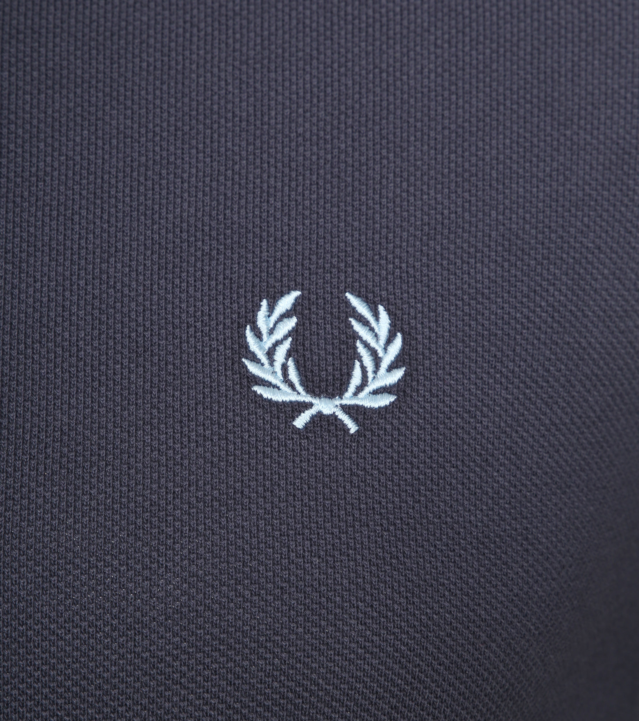 Fred Perry Polo Grijs Blauw C12 foto 1