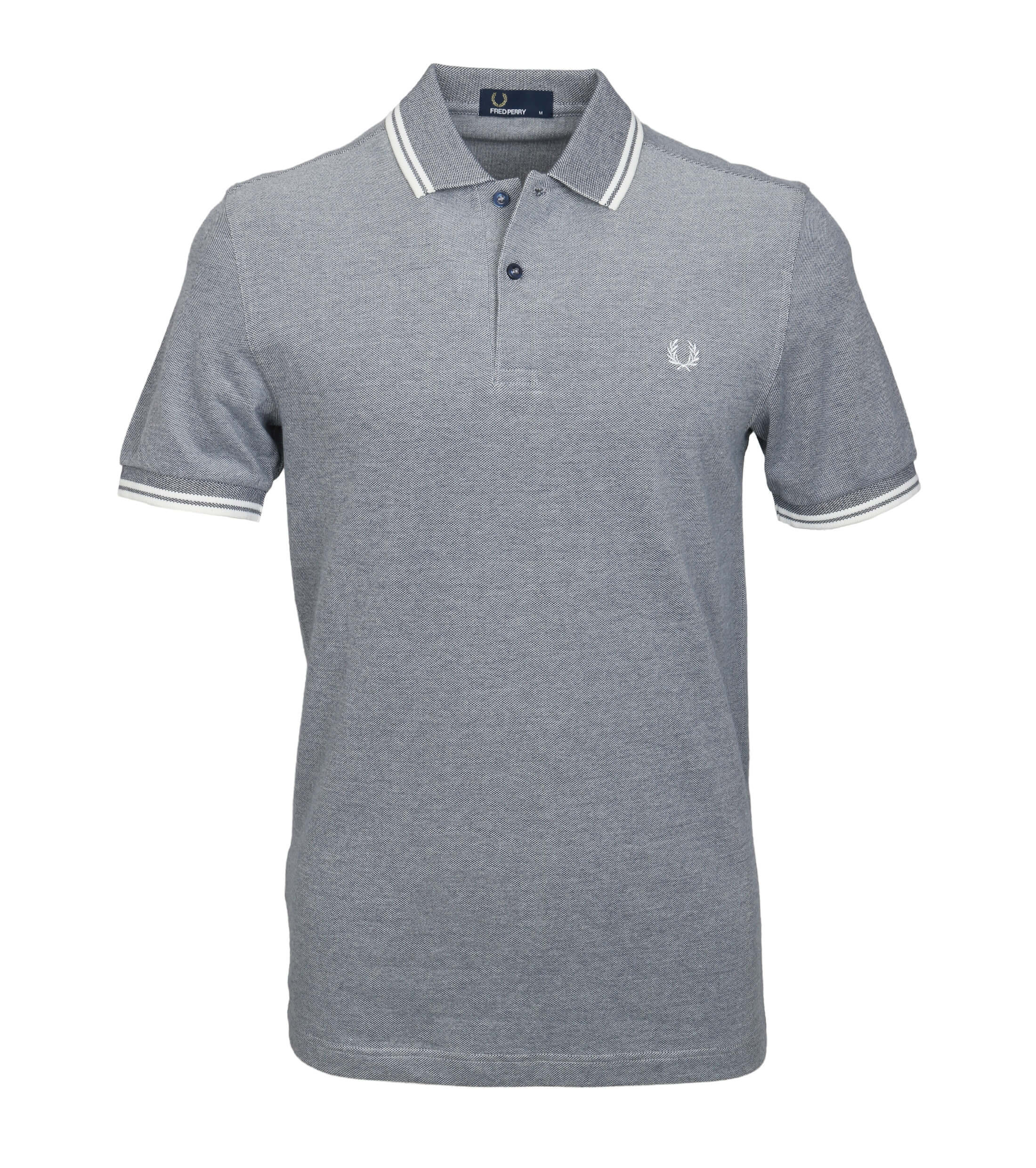 Fred Perry Polo Grijs F62 foto 0