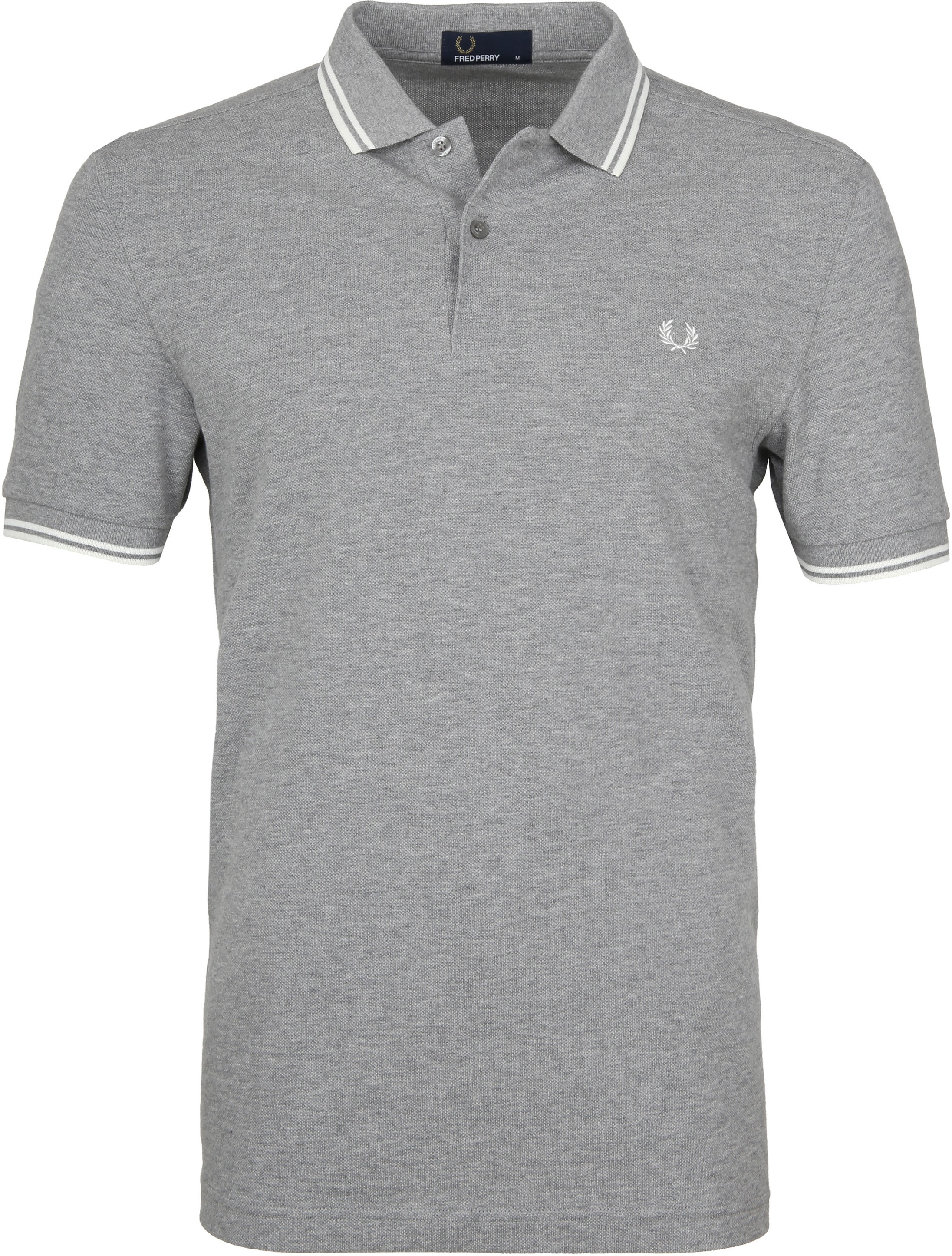 Fred Perry Polo Grijs H38 foto 0