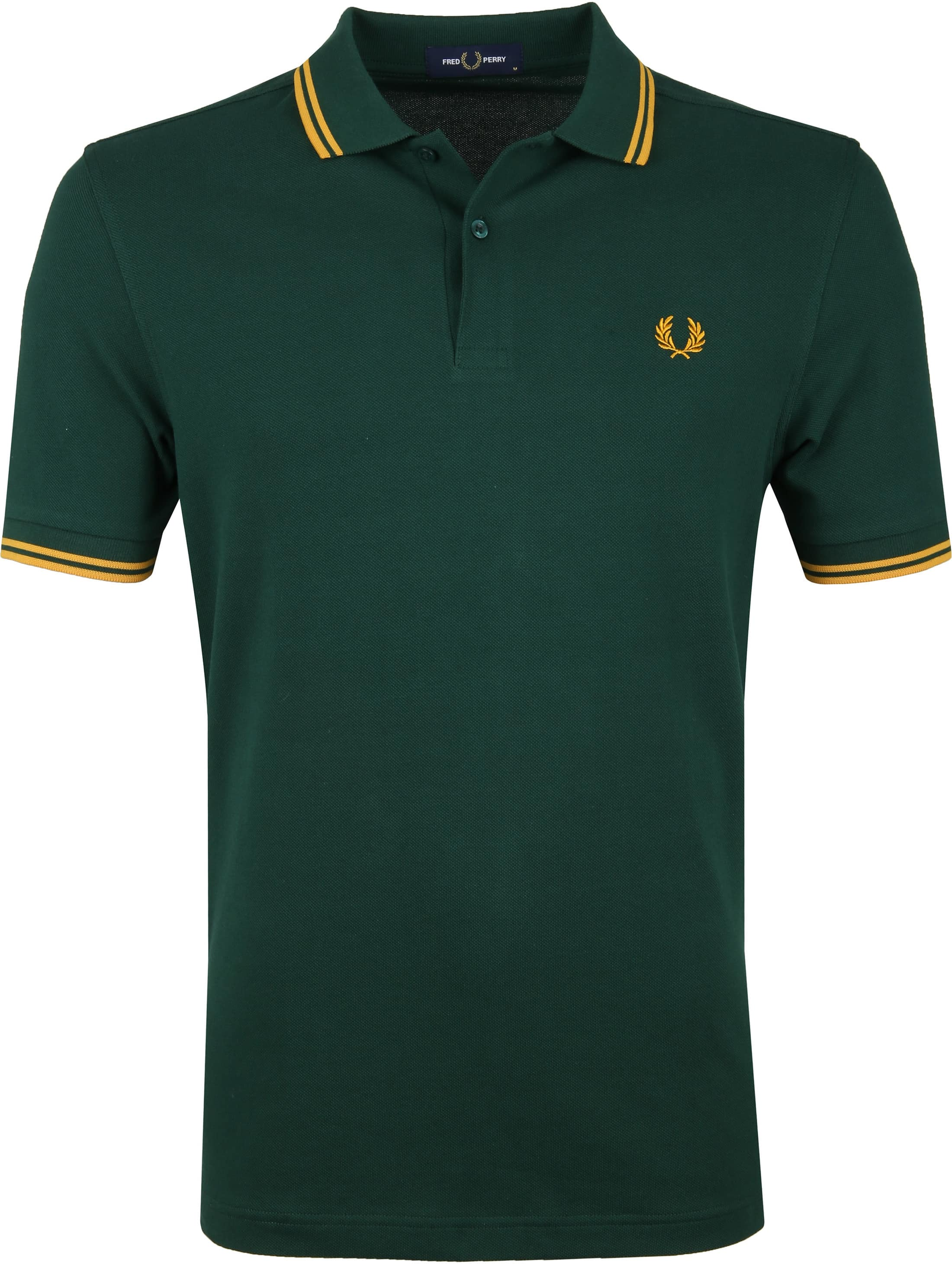 Fred Perry Polo Groen foto 0