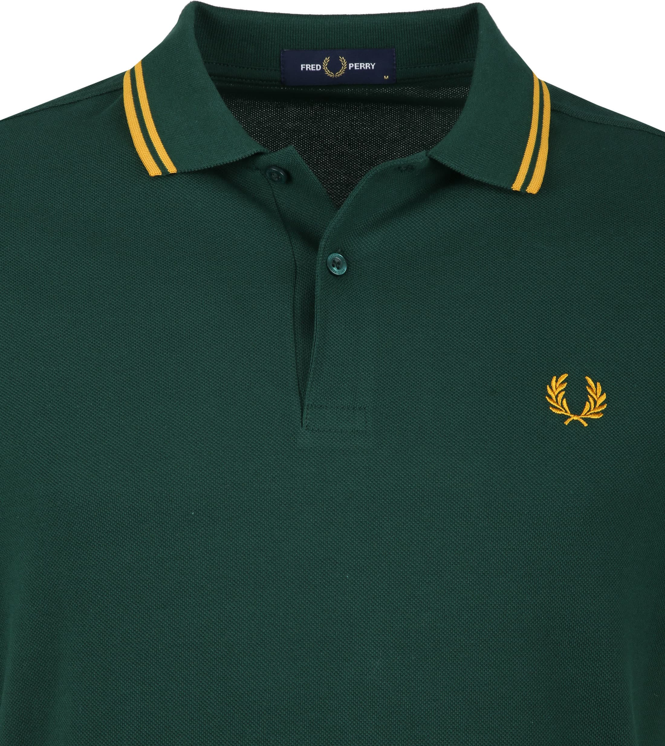 Fred Perry Polo Groen foto 1