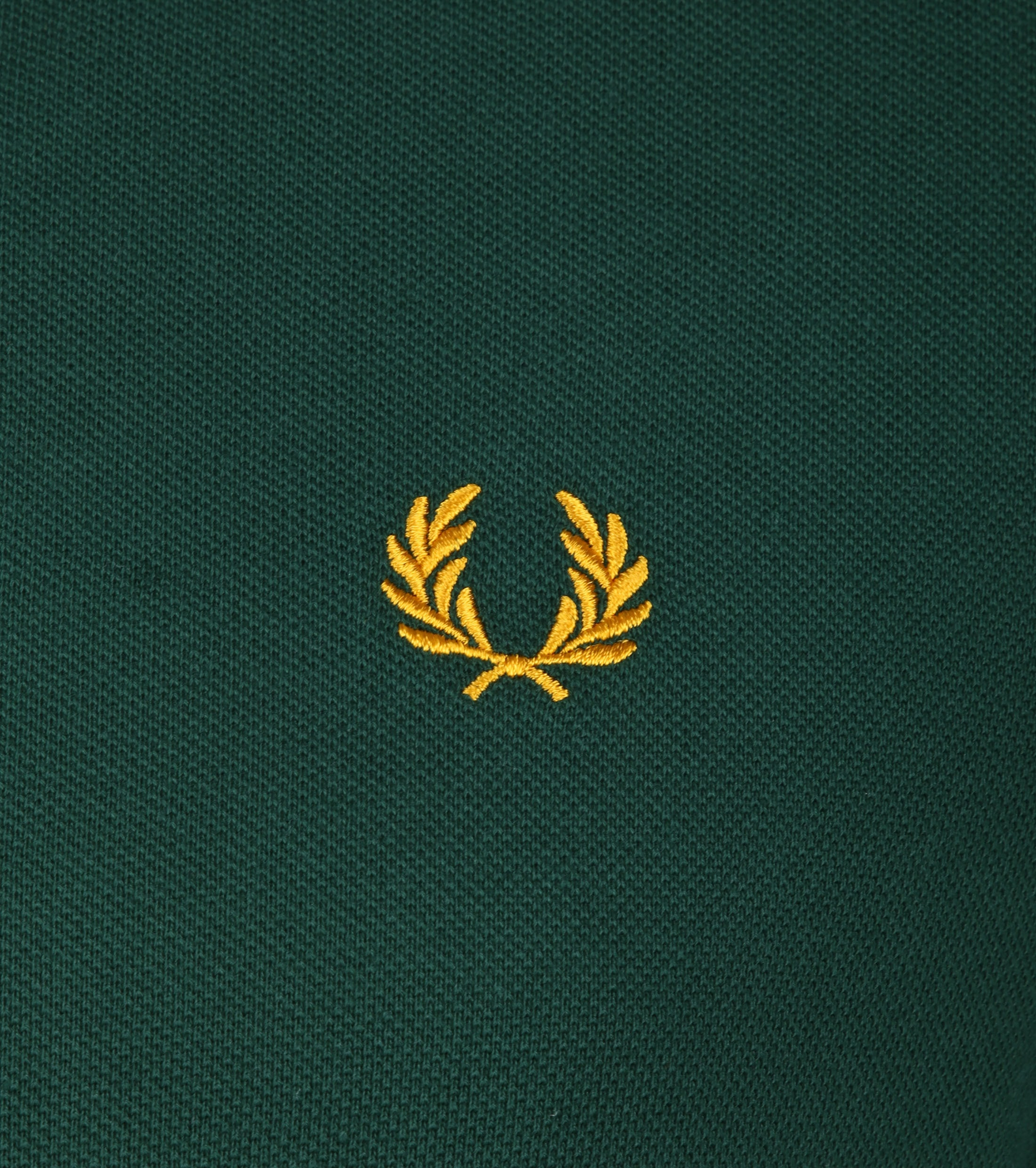 Fred Perry Polo Groen foto 2