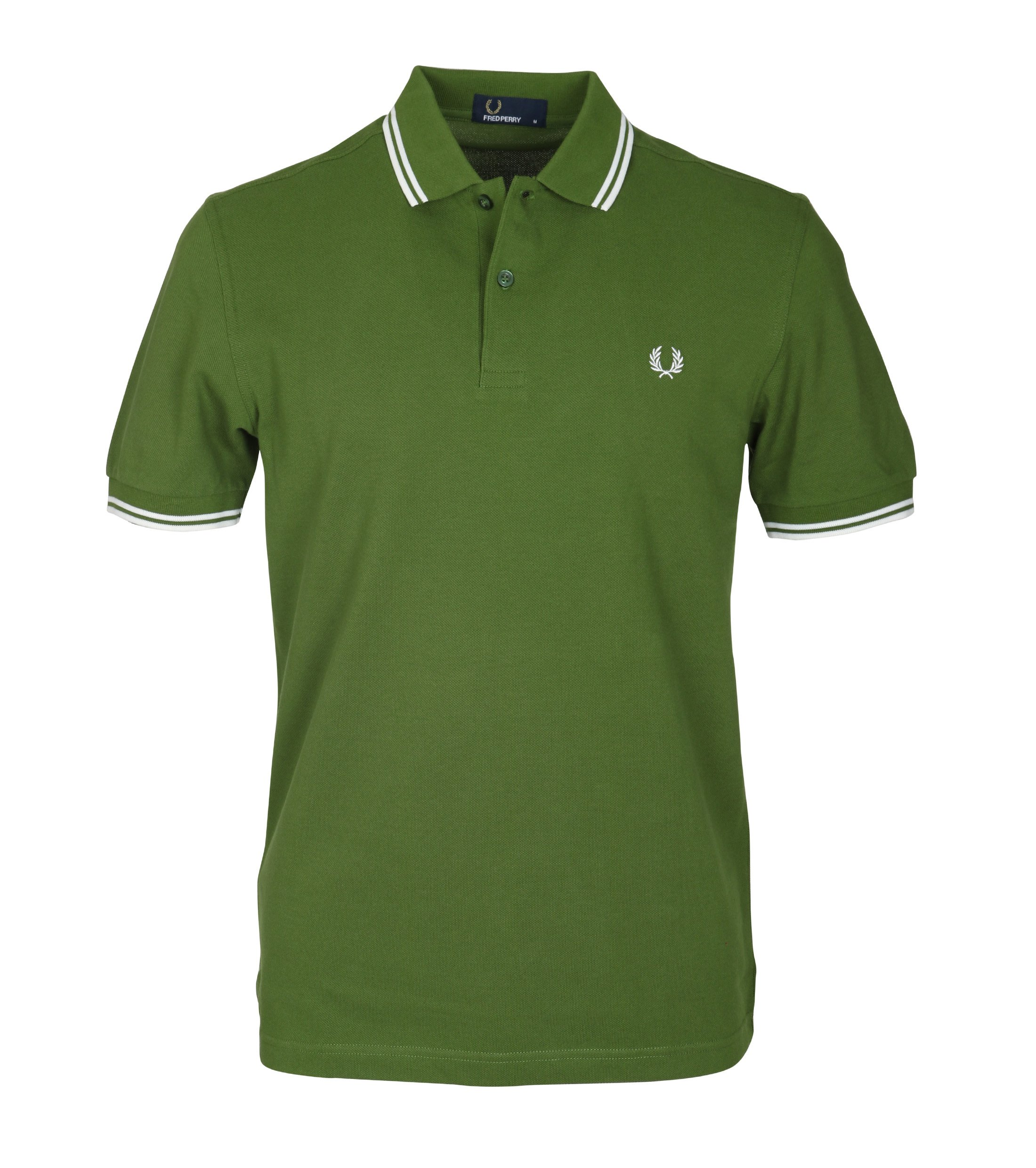 Fred Perry Polo Groen 293 foto 0