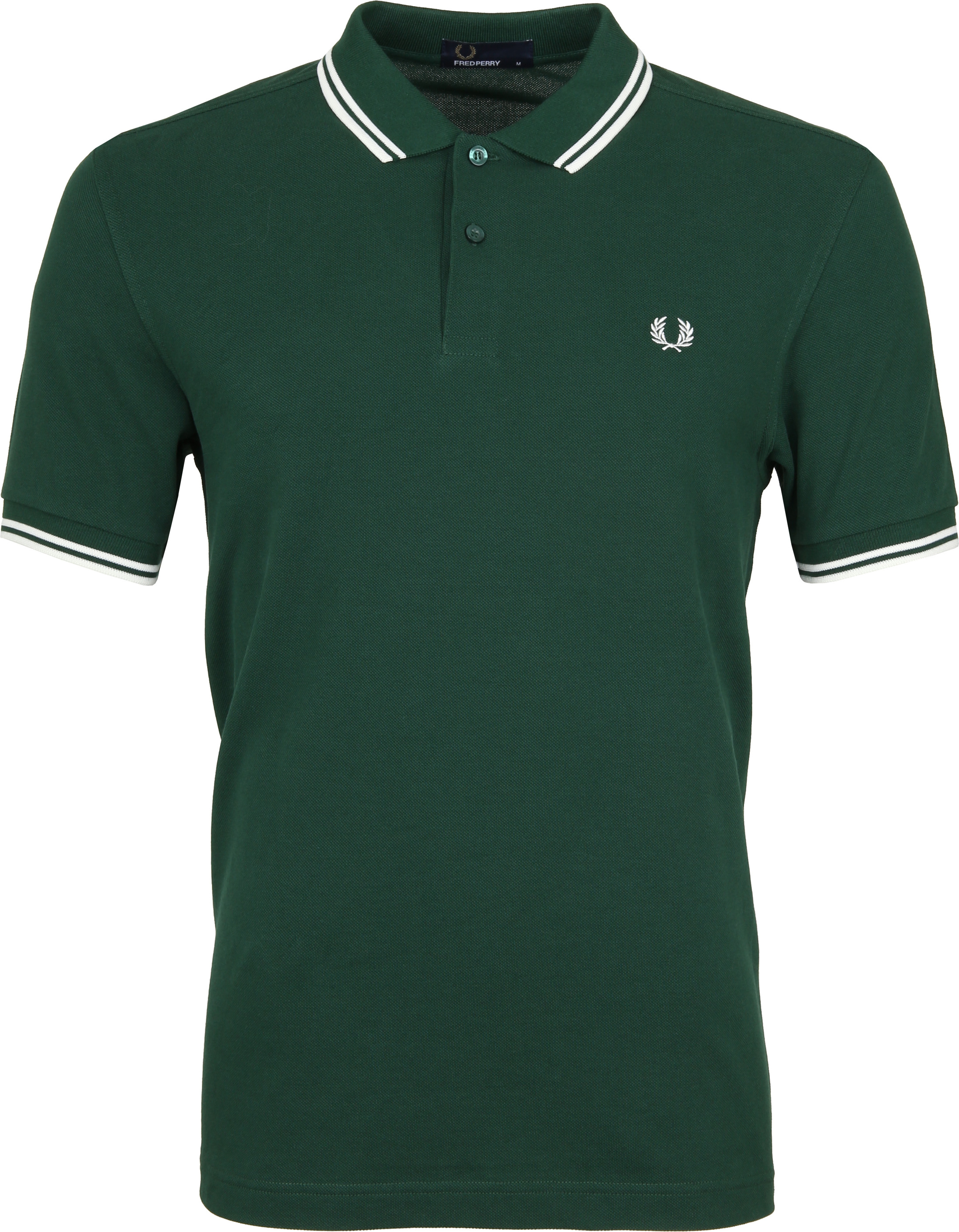 Fred Perry Polo Groen 406 foto 0