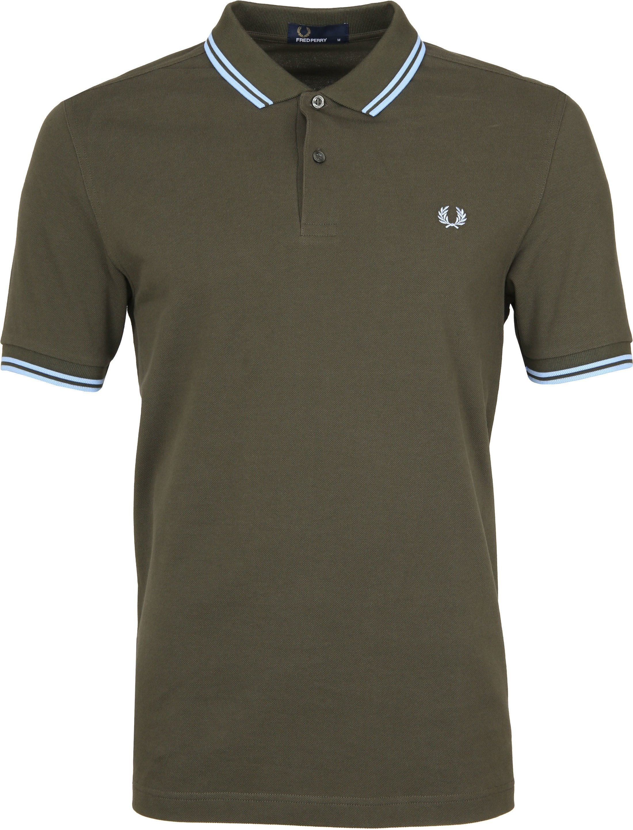 Fred Perry Polo Groen 617 foto 0