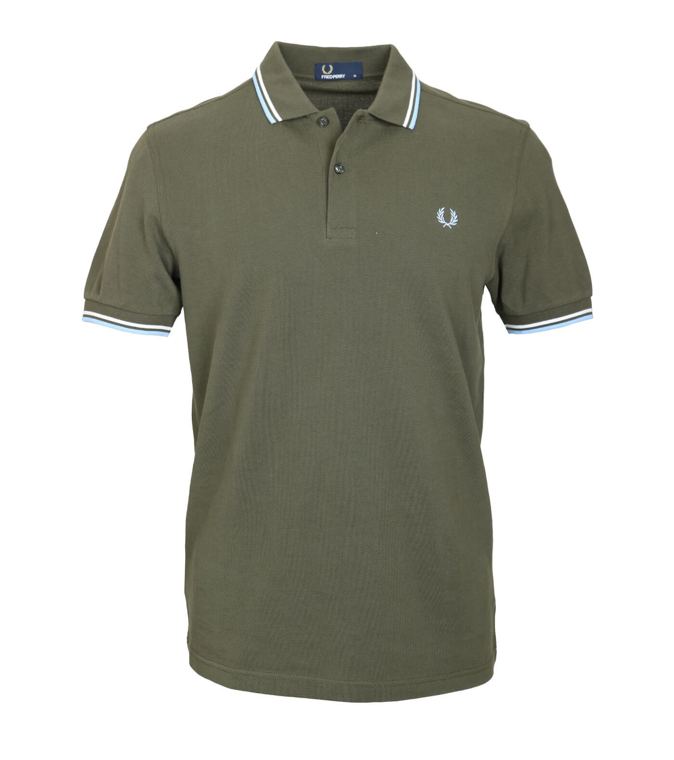 Fred Perry Polo Groen D65 foto 0