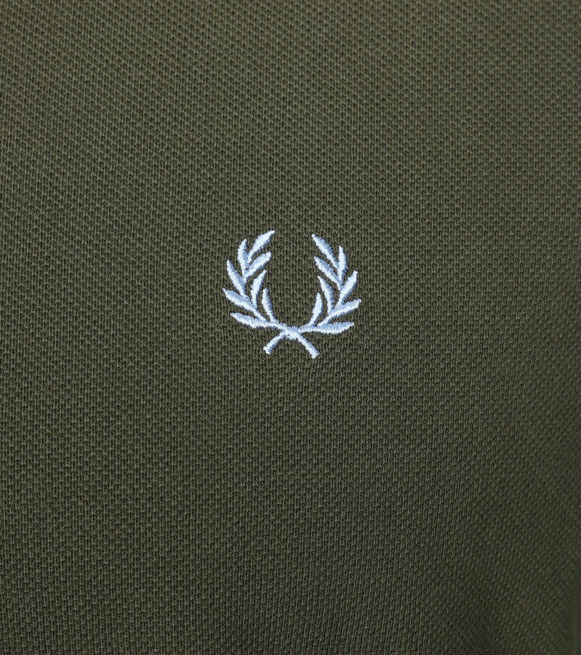 Fred Perry Polo Groen D65 foto 2