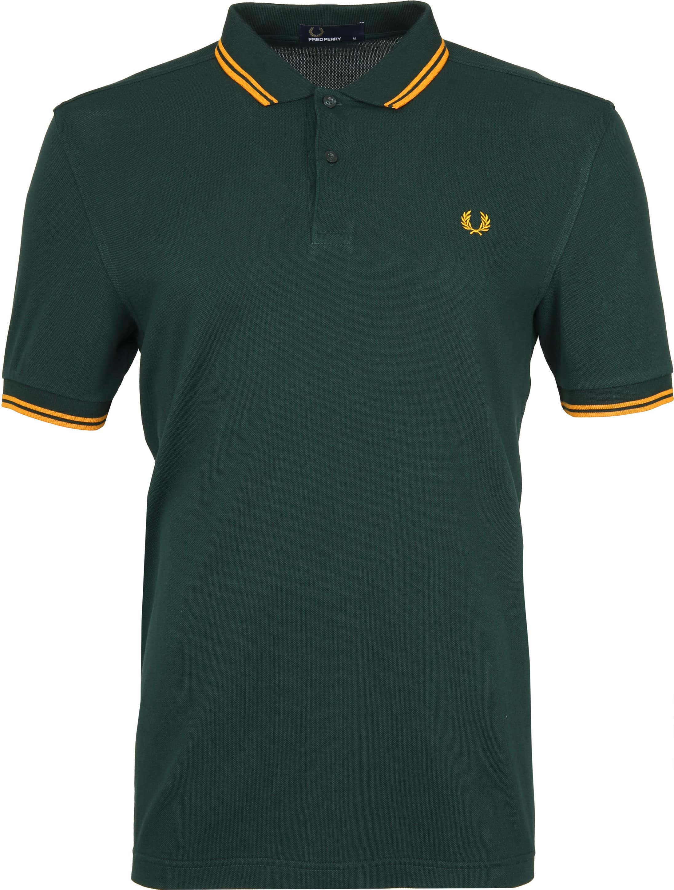 Fred Perry Polo Groen F40 foto 0