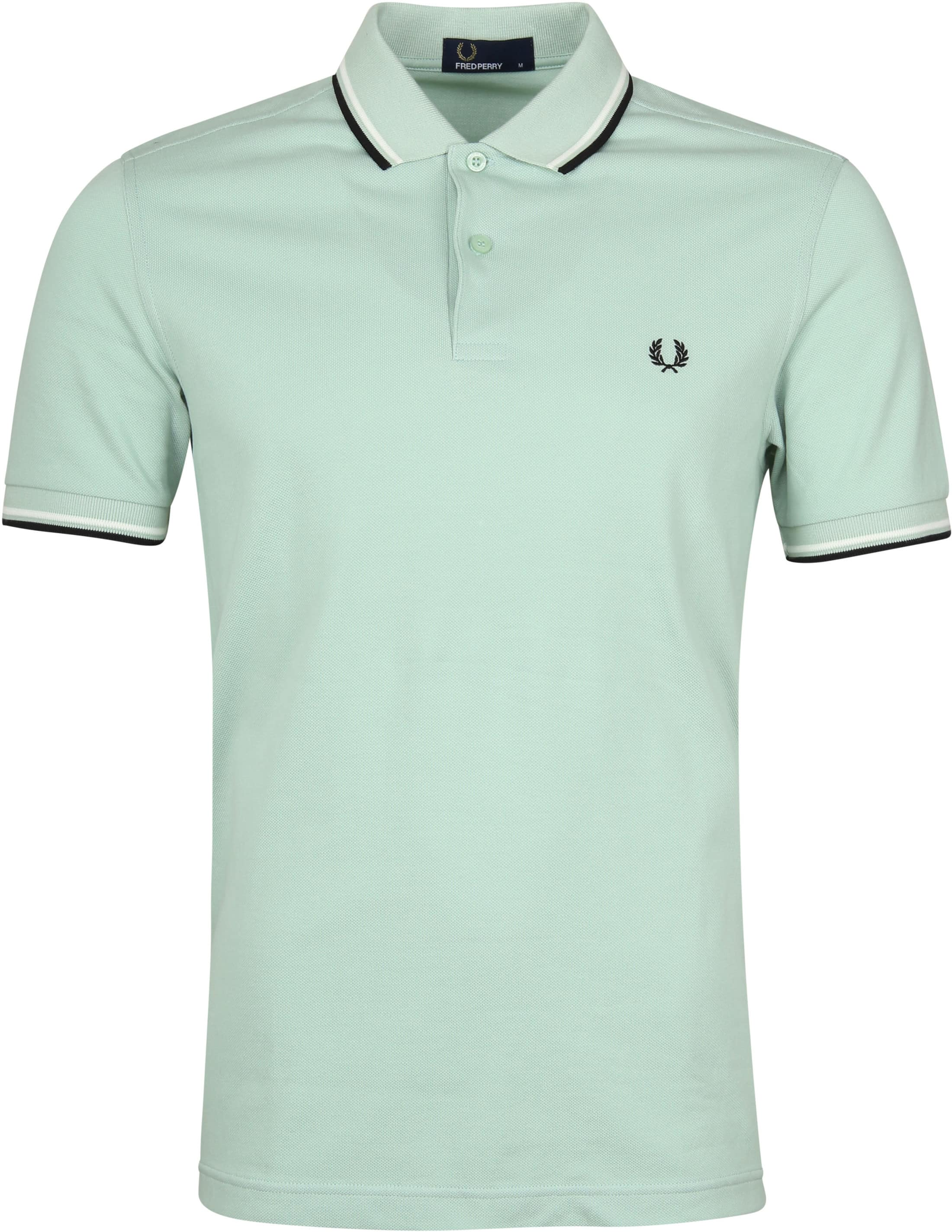 Fred Perry Polo Groen H40 foto 0