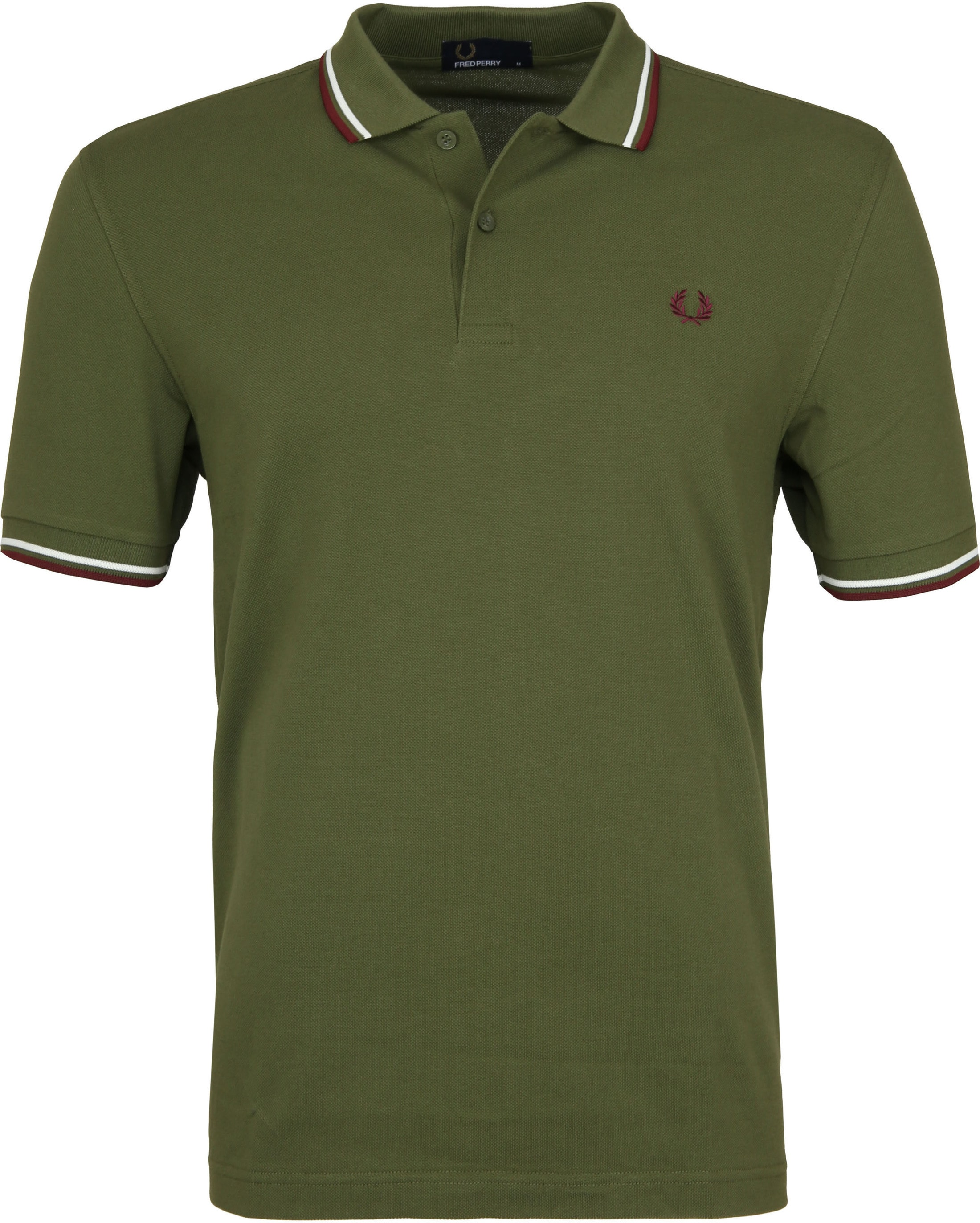 Fred Perry Polo Groen H94 foto 0
