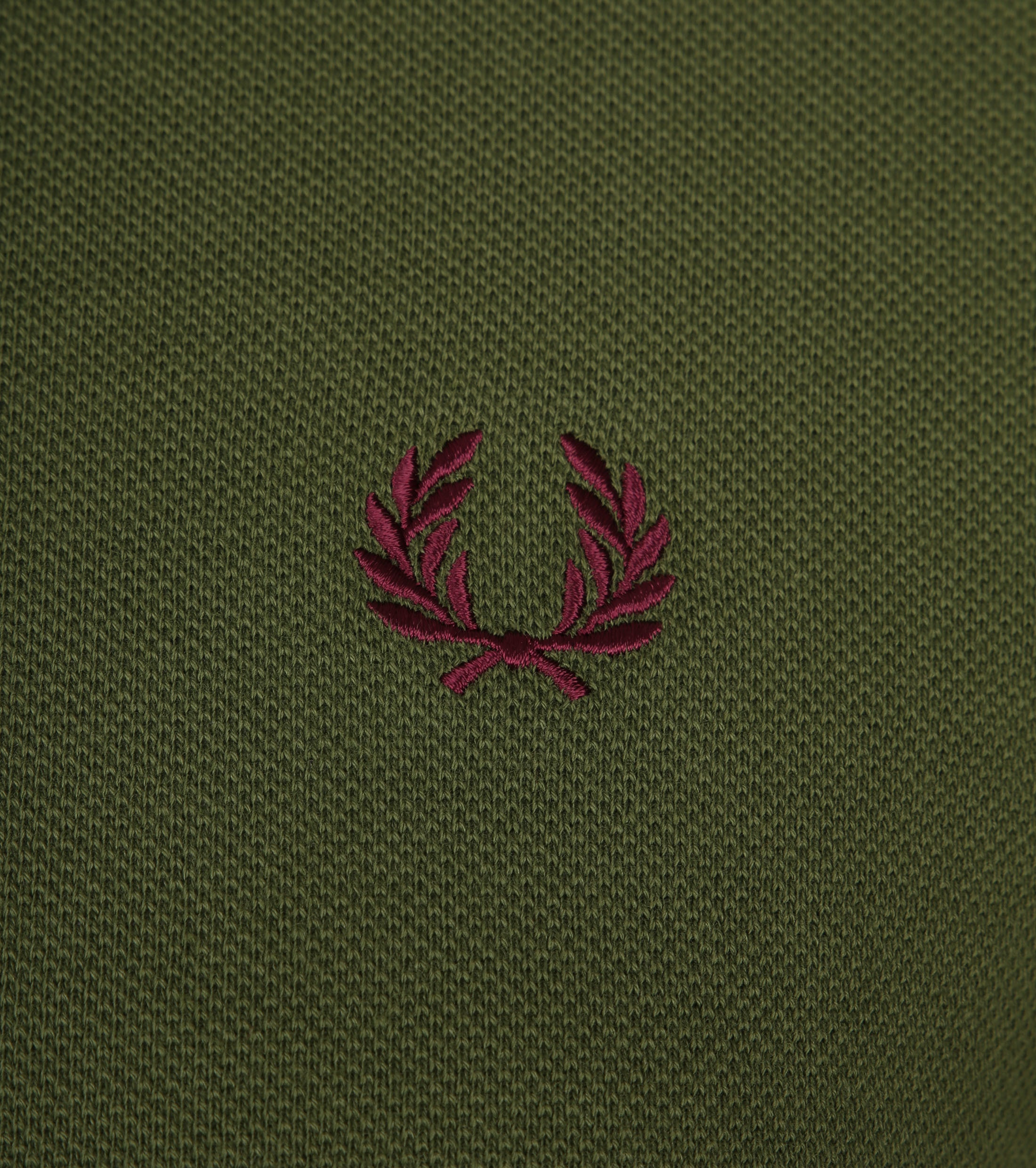 Fred Perry Polo Groen H94 foto 1