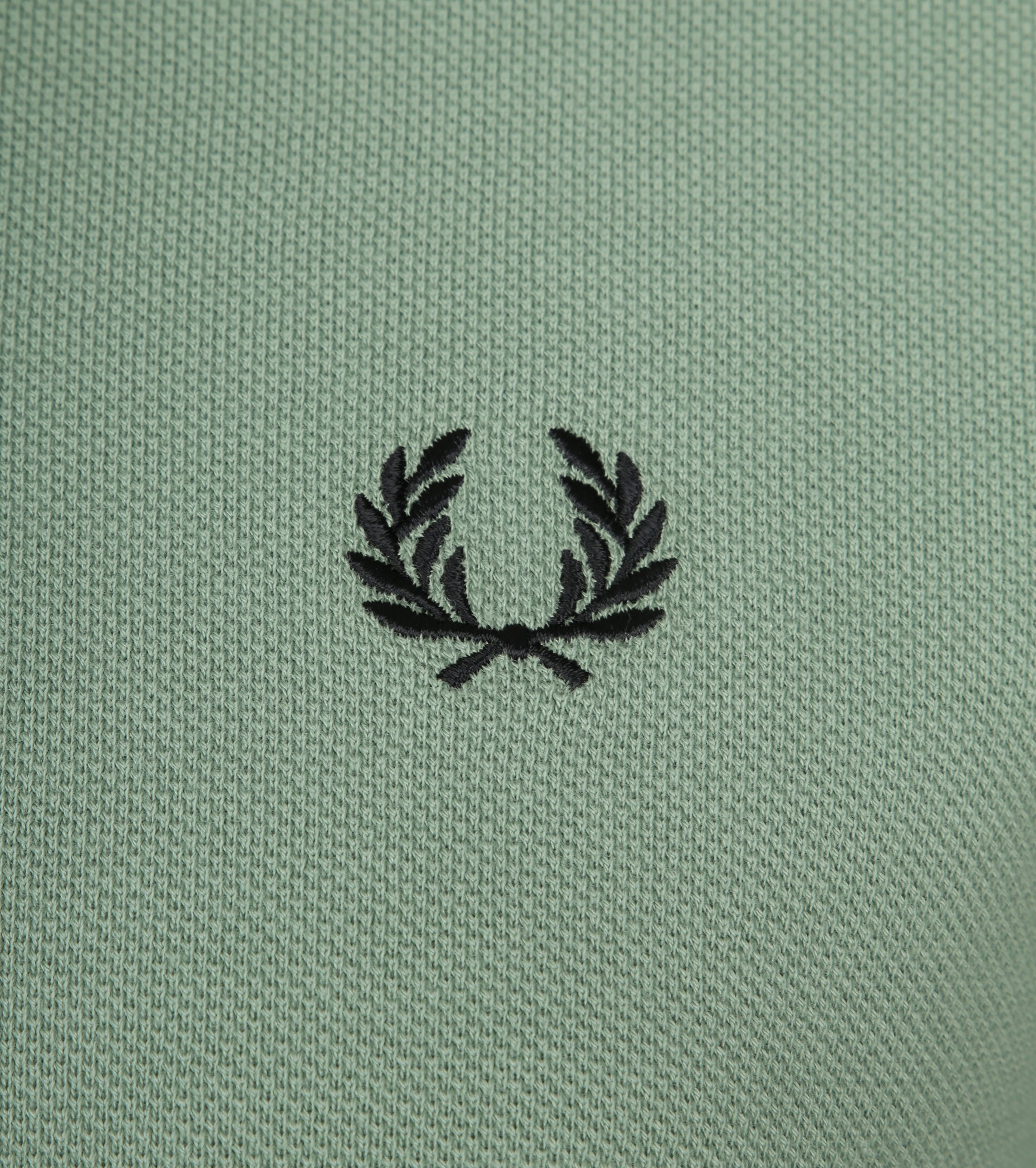 Fred Perry Polo Groen I10 foto 1