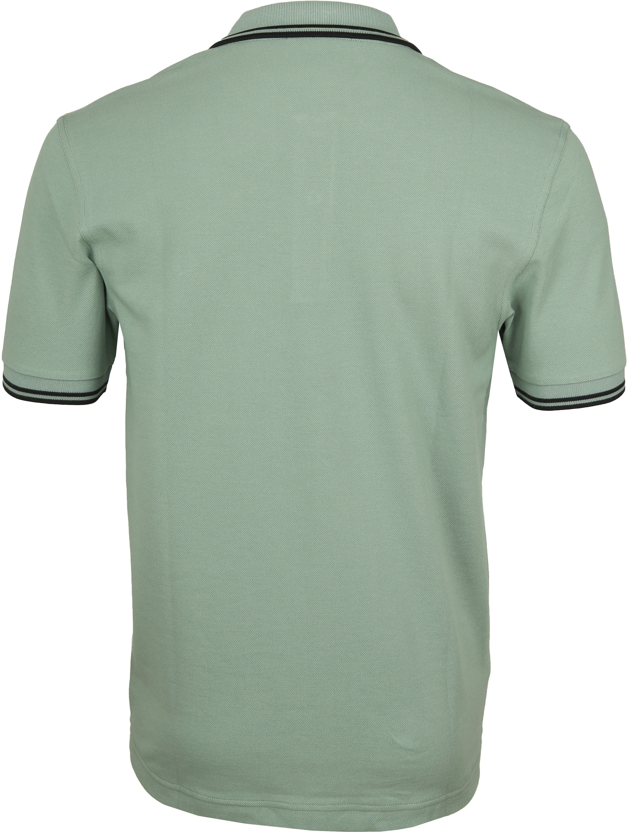 Fred Perry Polo Groen I10 foto 2