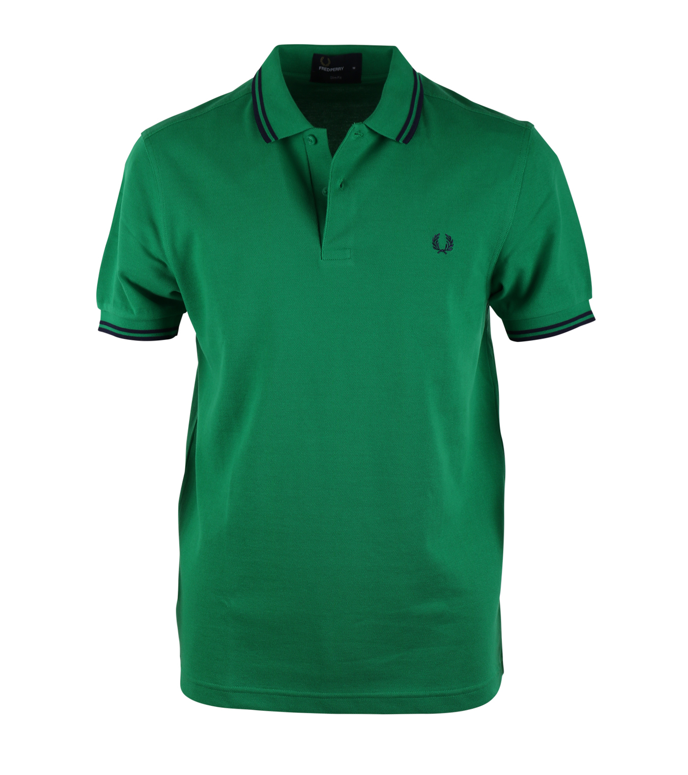 Fred Perry Polo Island Green Slim Fit C92 foto 0