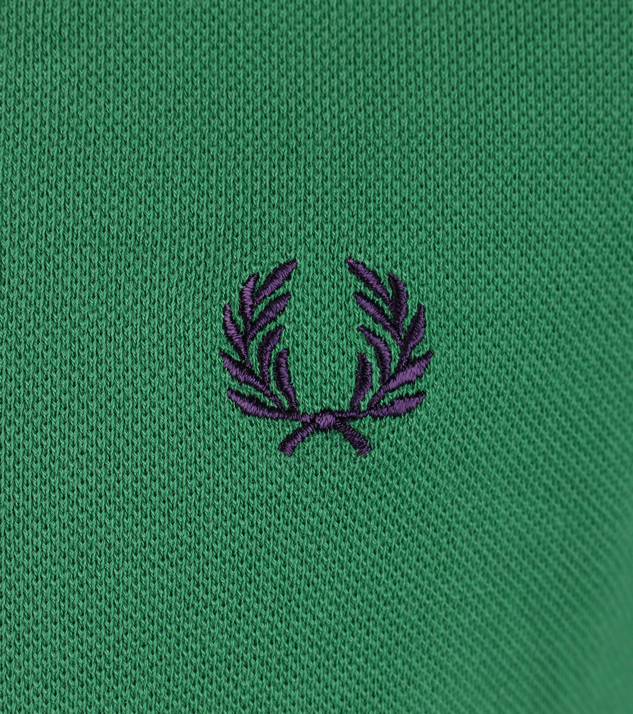 Fred Perry Polo Island Green Slim Fit C92 foto 2