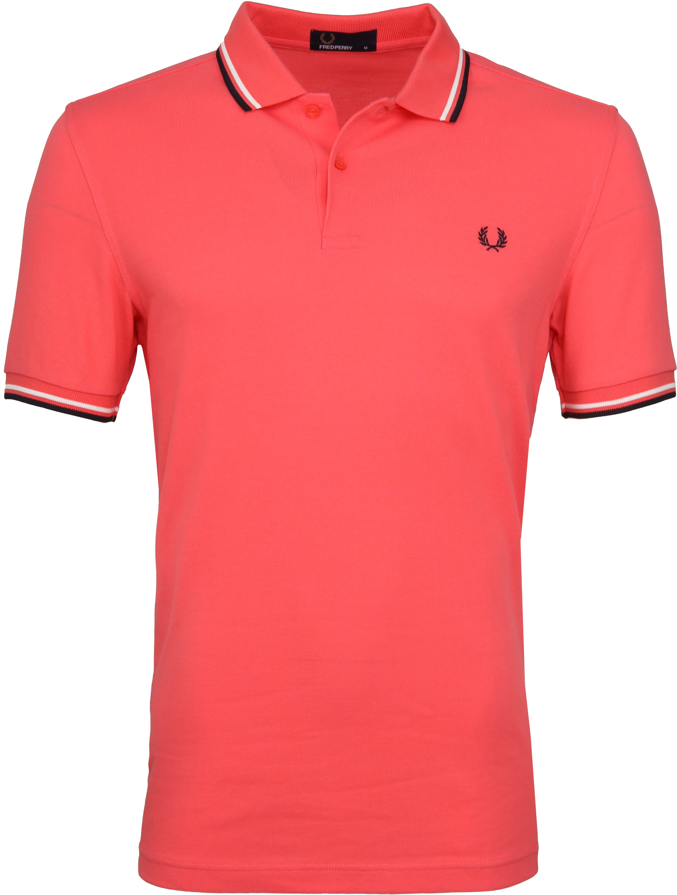 Fred Perry Polo Korall Rosa 489 foto 0