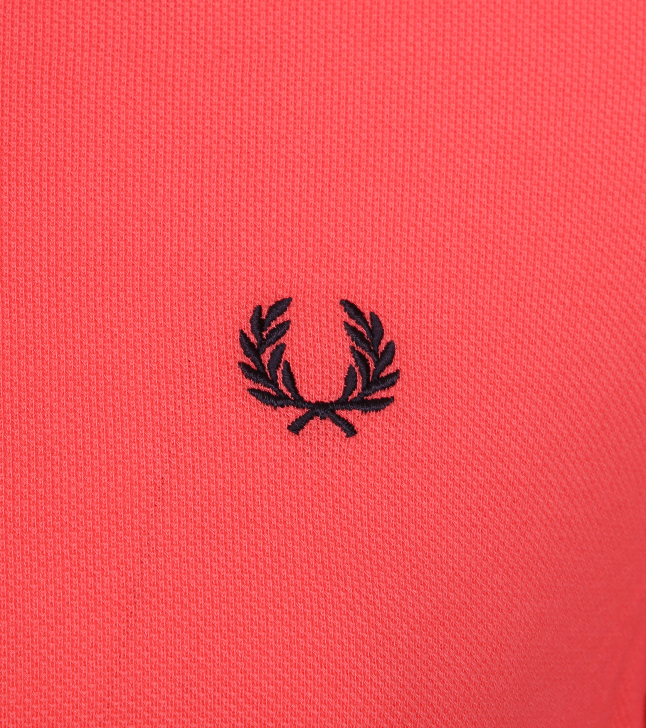 Fred Perry Polo Korall Rosa 489 foto 1